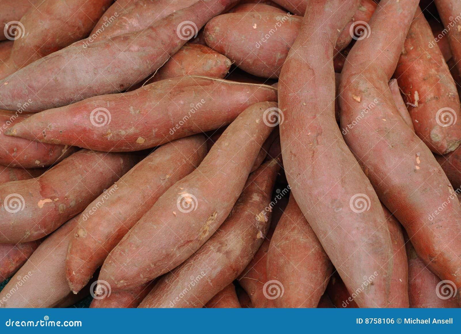 οργανικό γλυκό πατατών