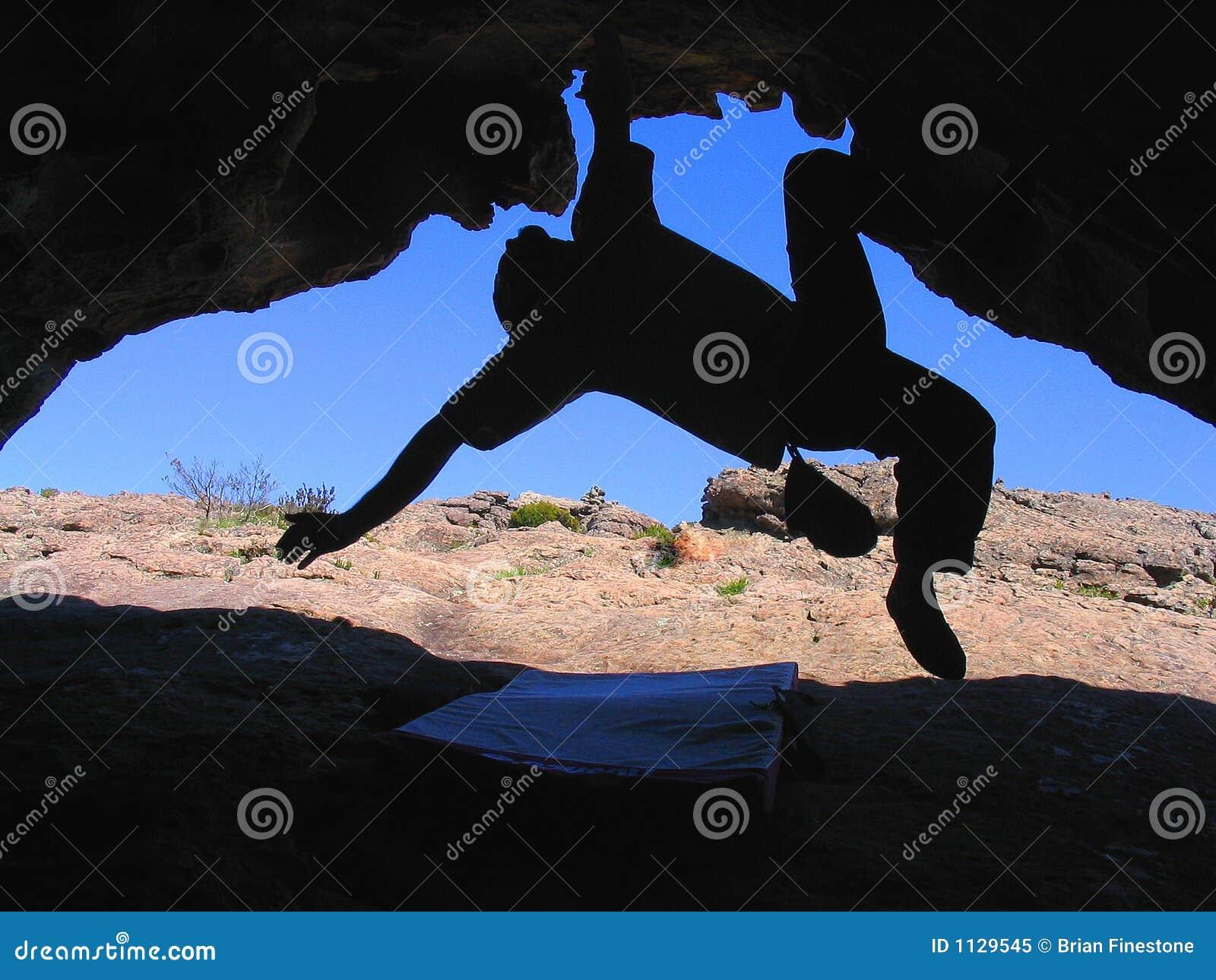 ορειβάτης σπηλιών