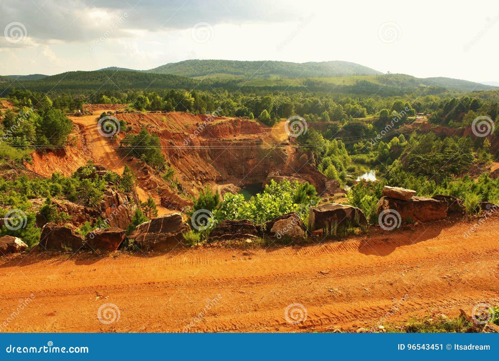 Ορυχείο κρυστάλλου του Coleman Ron