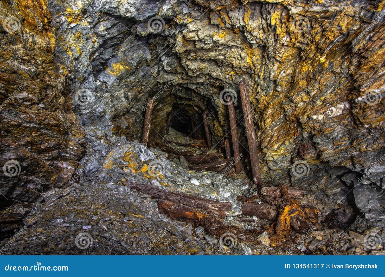 ορυχείο χρυσού παλαιό