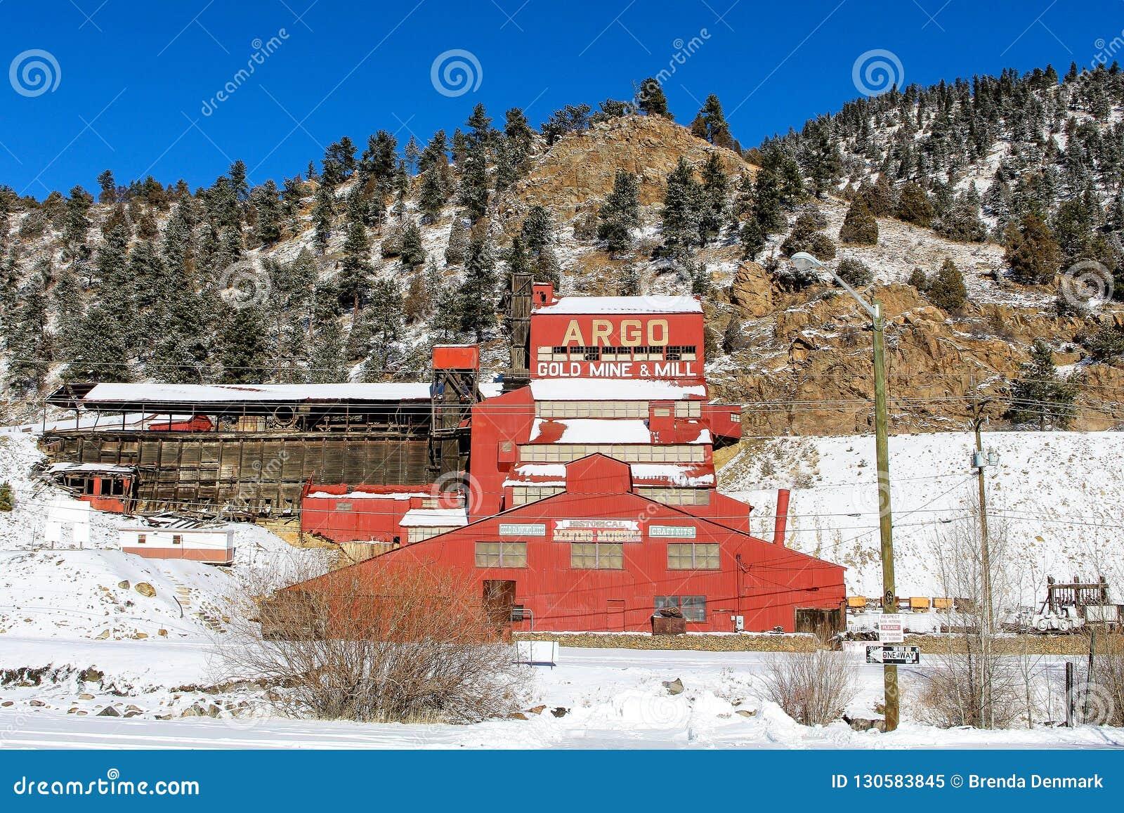 Ορυχείο χρυσού Argo, ανοίξεις του Αϊντάχο, Κολοράντο