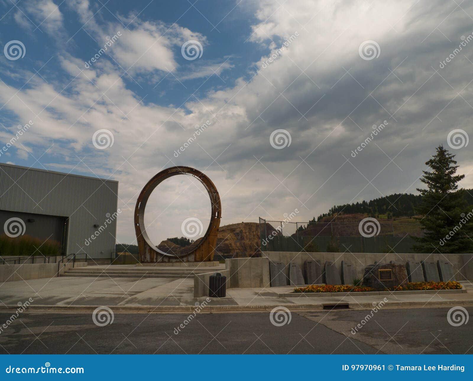Ορυχείο χρυσού Homestake, μόλυβδος, νότια Ντακότα