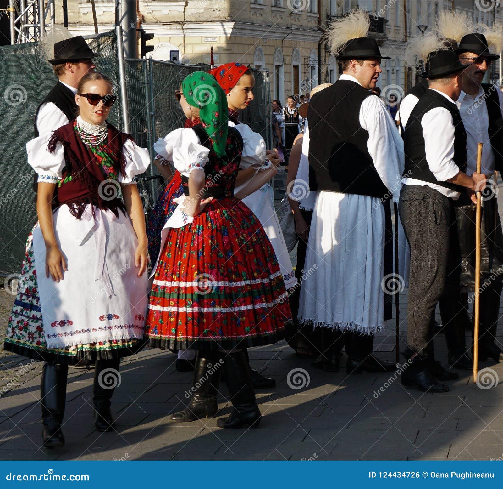 Ουγγρικές ημέρες στο Cluj Πρόσωπα στο πλήθος