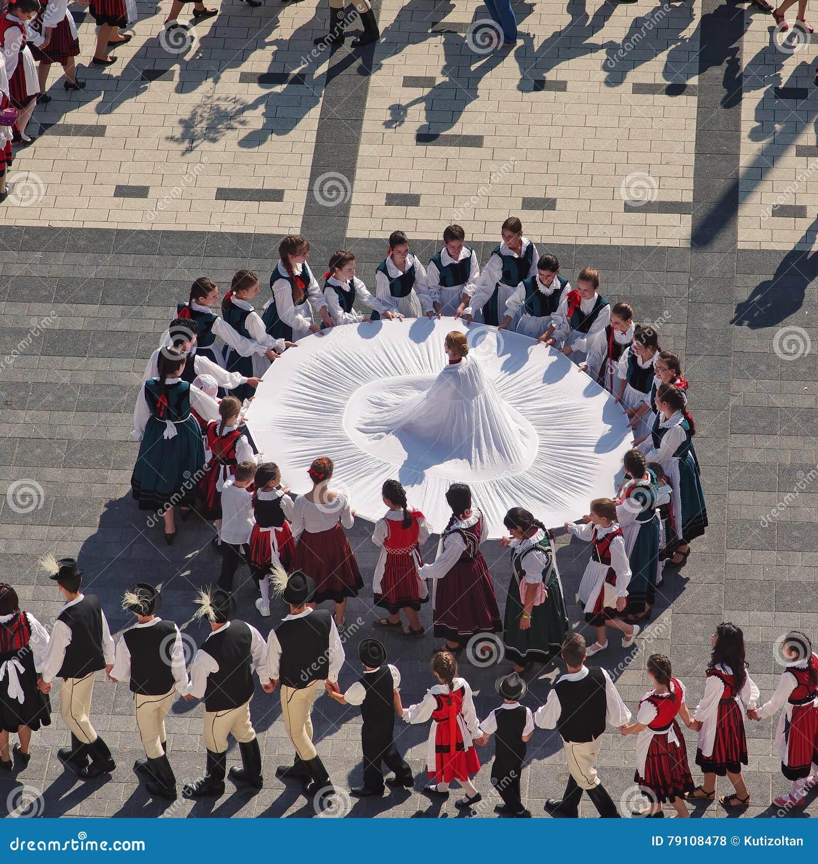 Ουγγρικός λαϊκός χορός