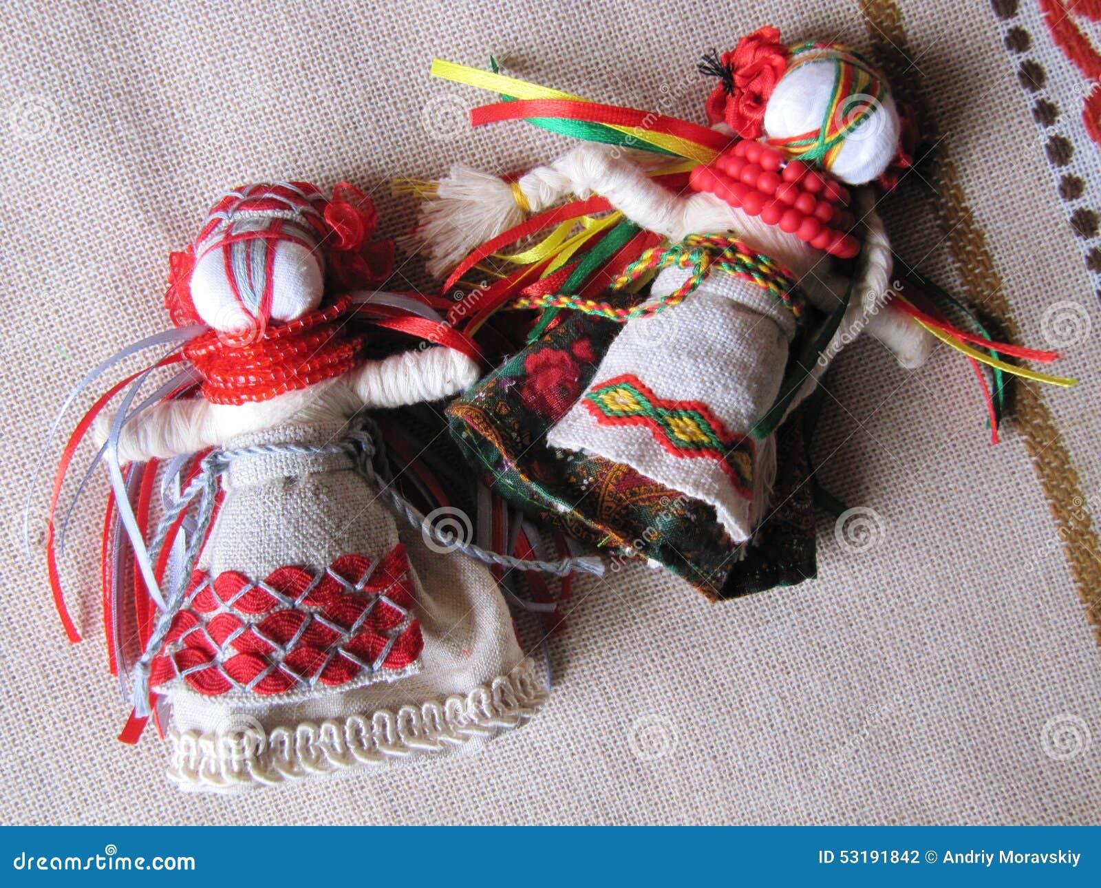 Ουκρανική χειροποίητη λαϊκή κούκλα
