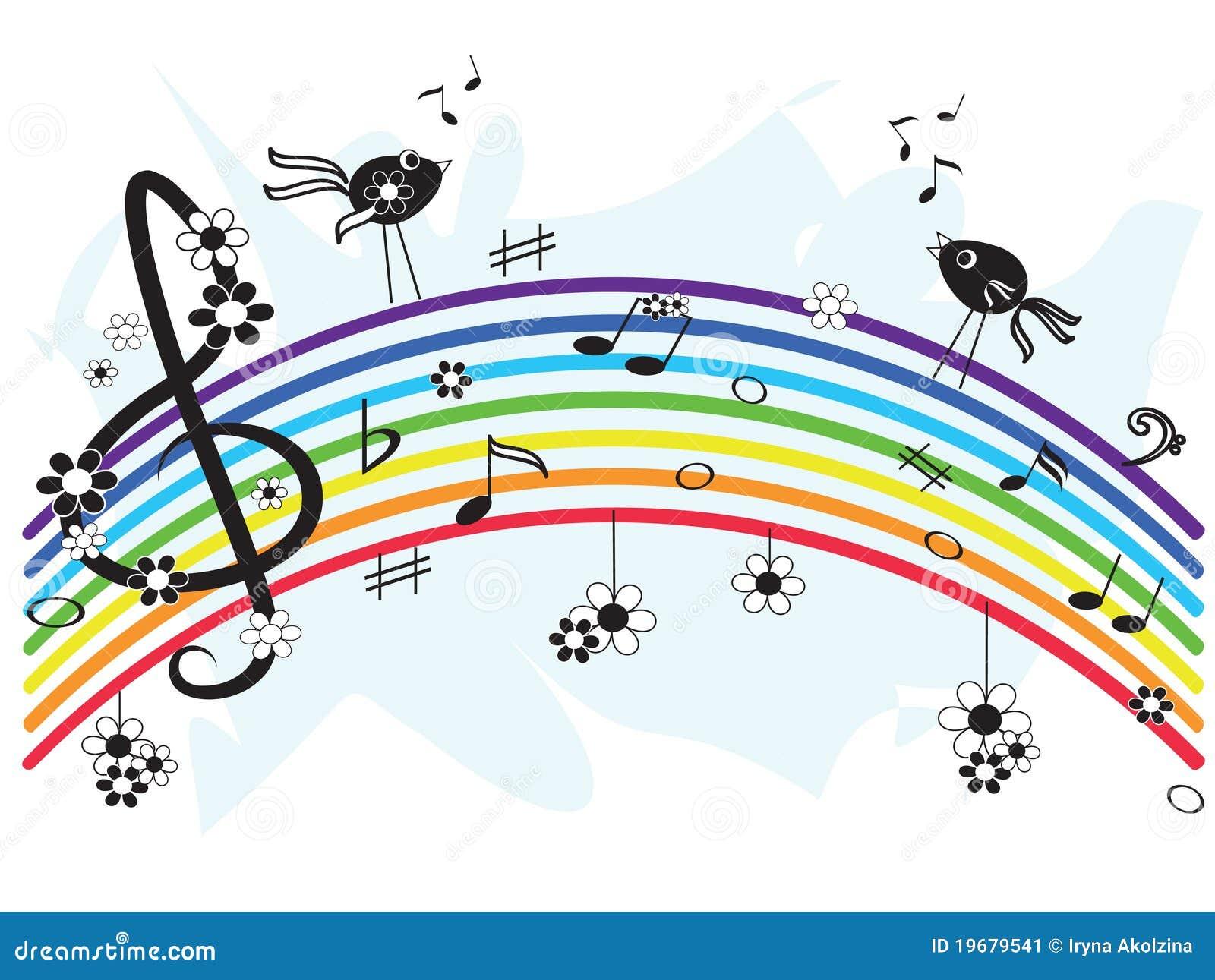 ουράνιο τόξο μουσικής
