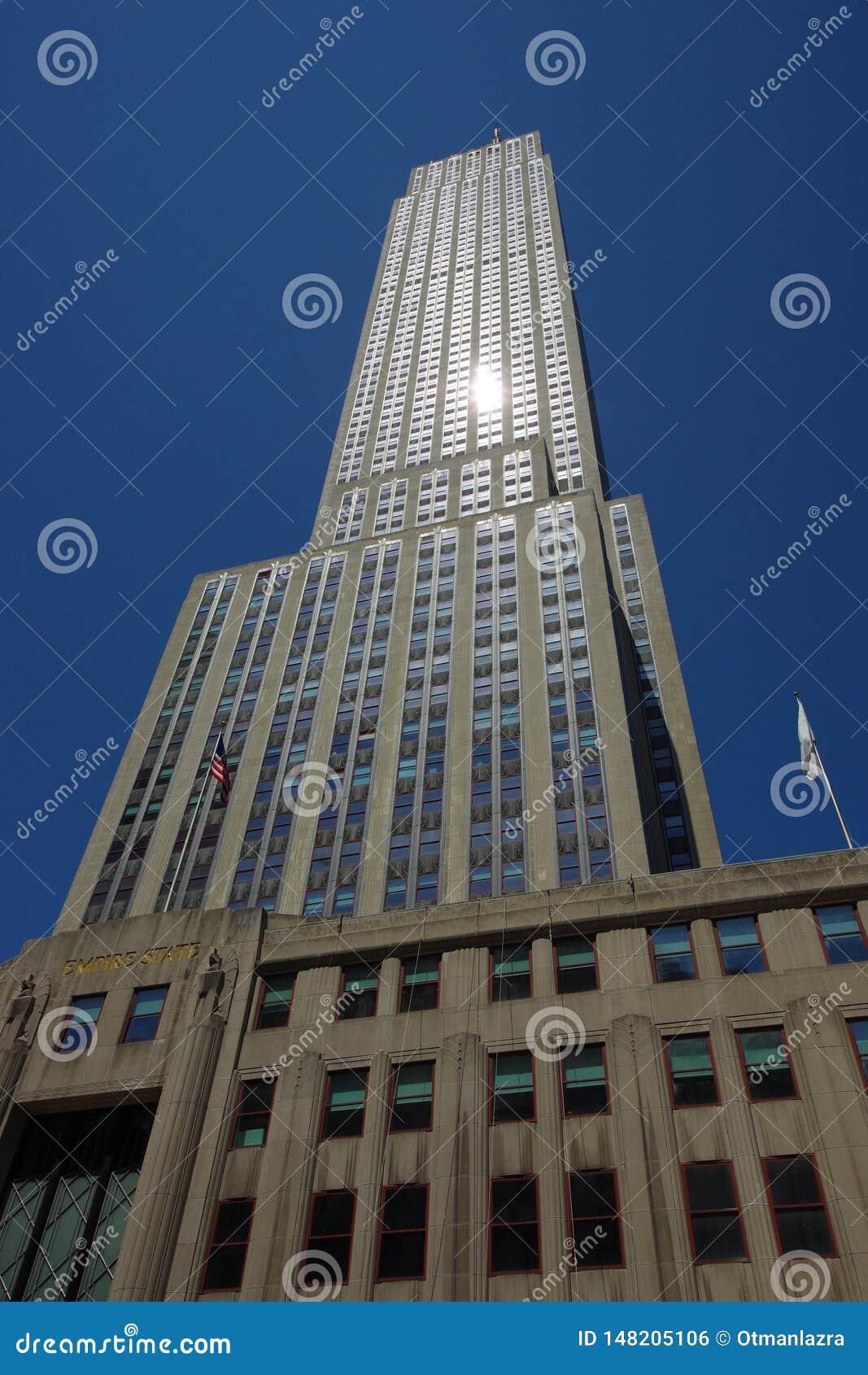 Ουρανοξύστης Εmpire State Building στη Νέα Υόρκη