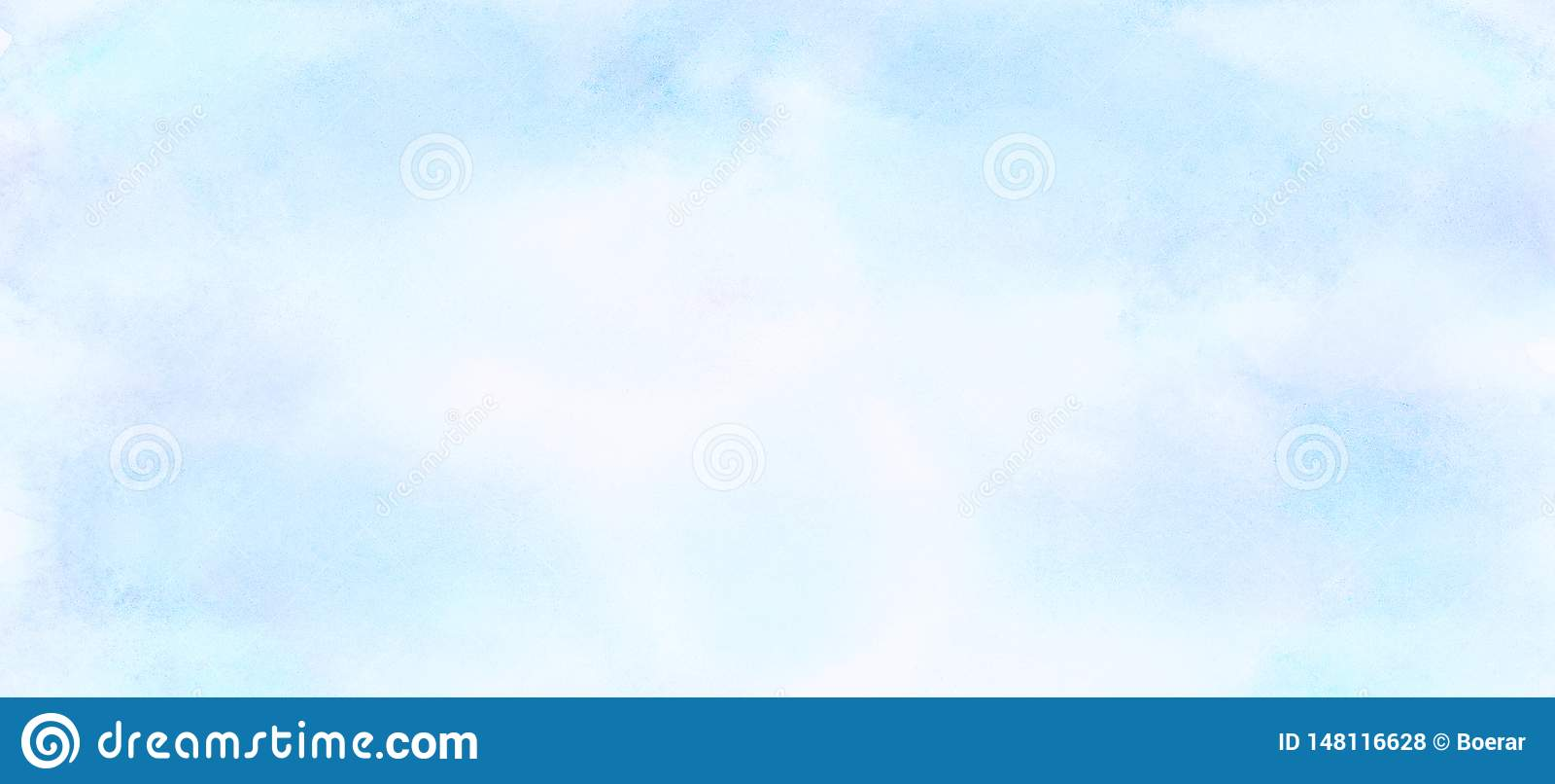 Ουρανού μπλε υπόβαθρο watercolor χρώματος ελαφρύ r