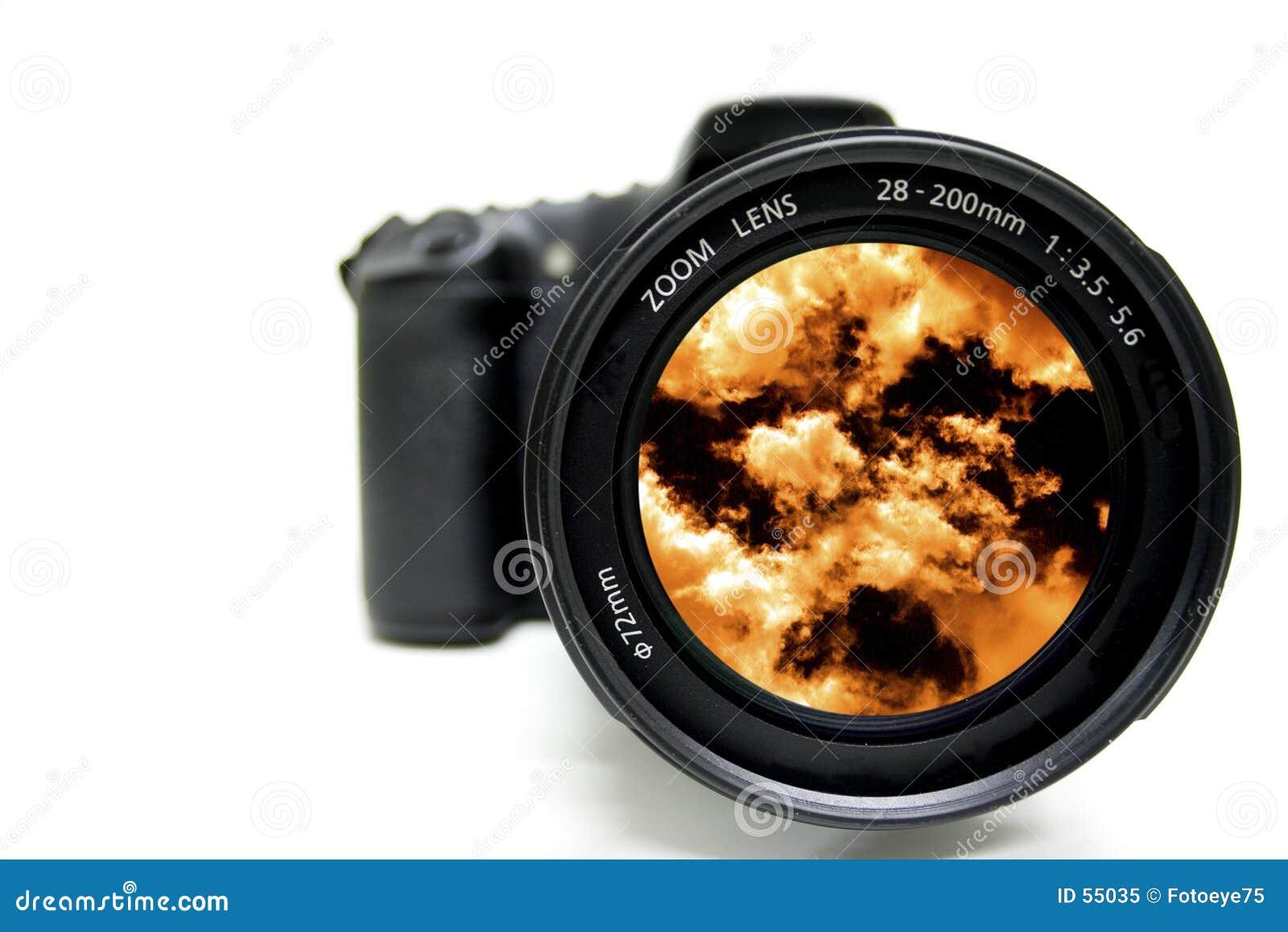 Download ουρανός βλαστών στοκ εικόνα. εικόνα από επαγγελματικός, πορτοκάλι - 55035