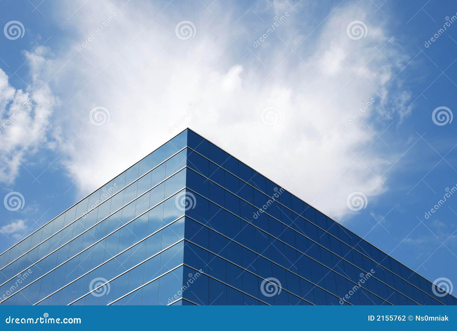 ουρανός γραφείων οικοδό&