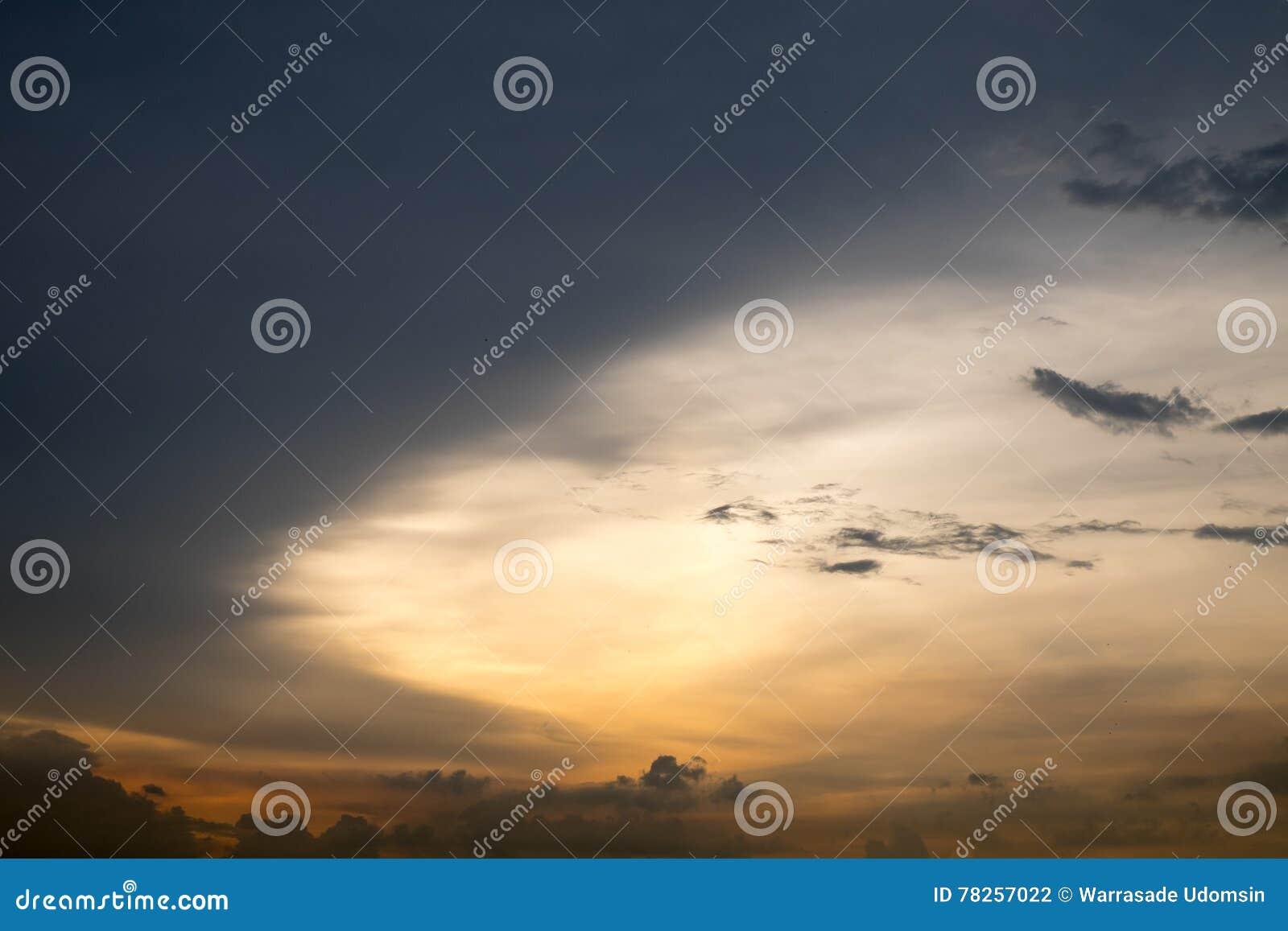 ουρανός σύννεφων