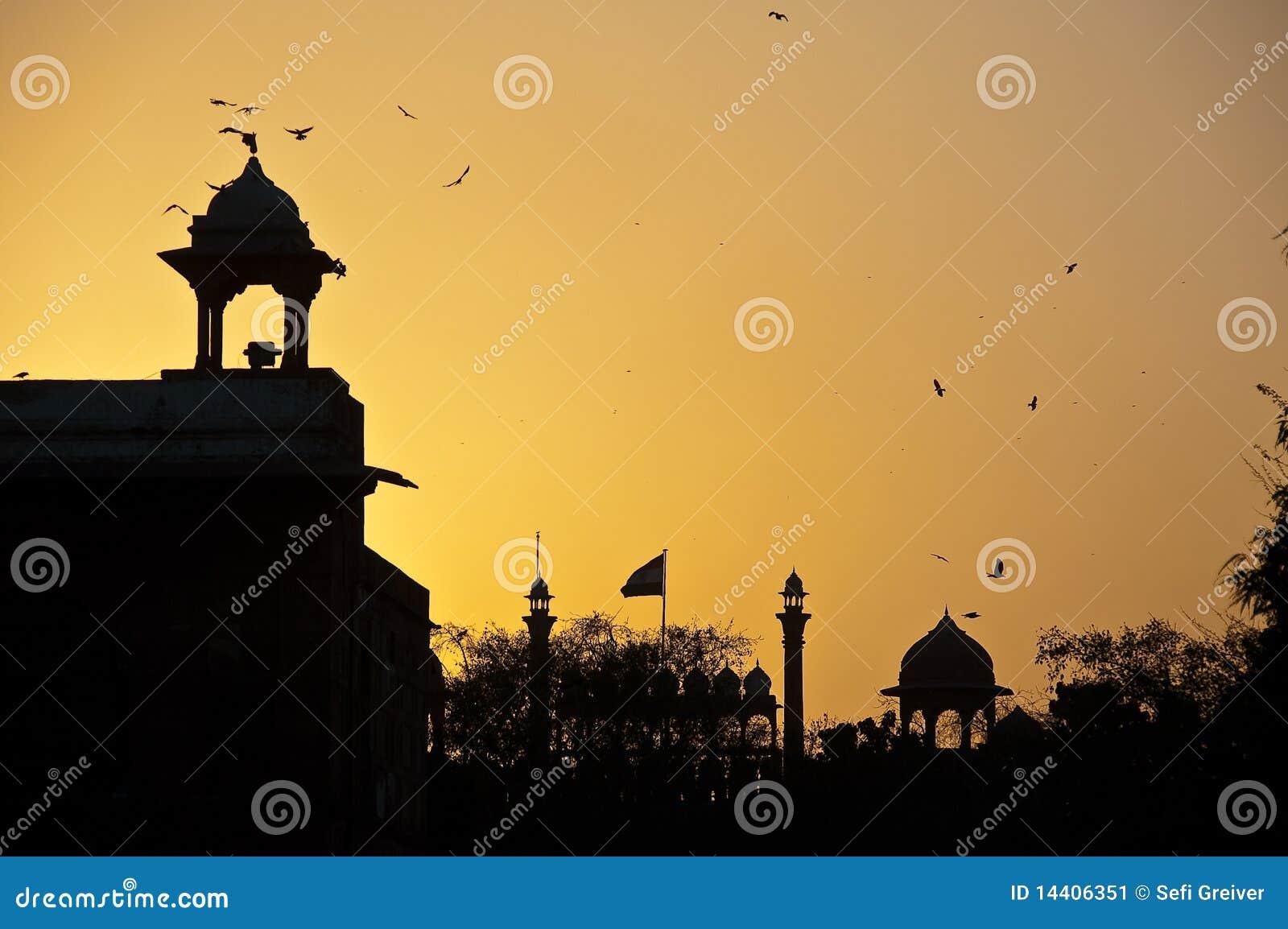 οχυρό του Δελχί πέρα από το