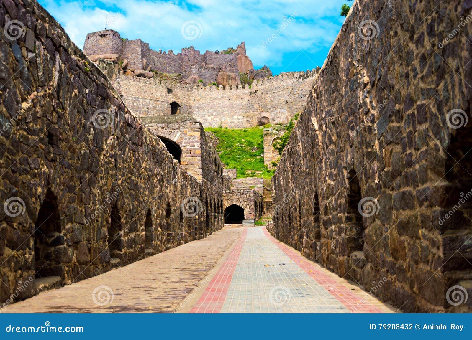 Οχυρό Golconda, Hyderabad - Ινδία