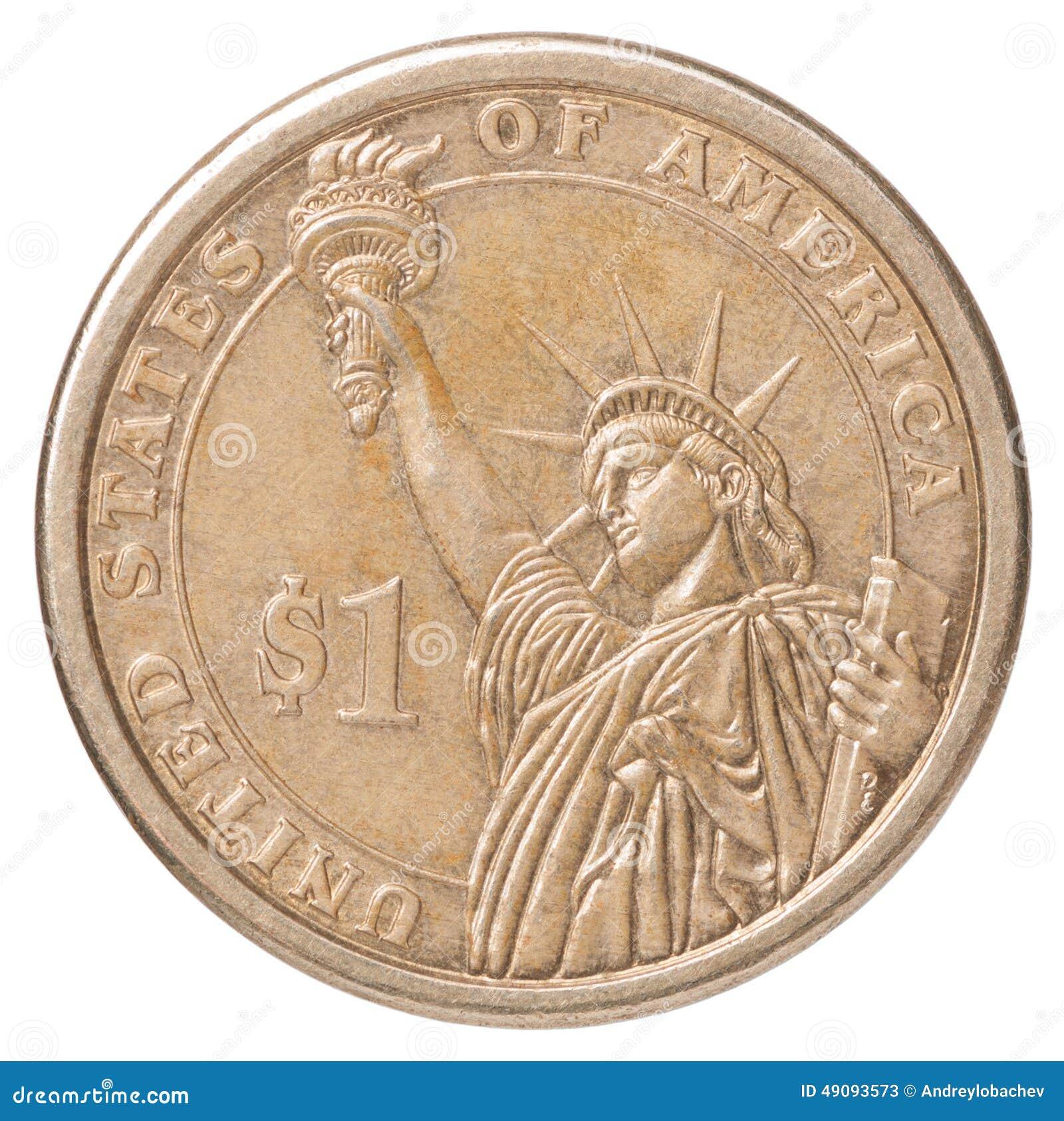 δολάριο ένα νομισμάτων εμείς