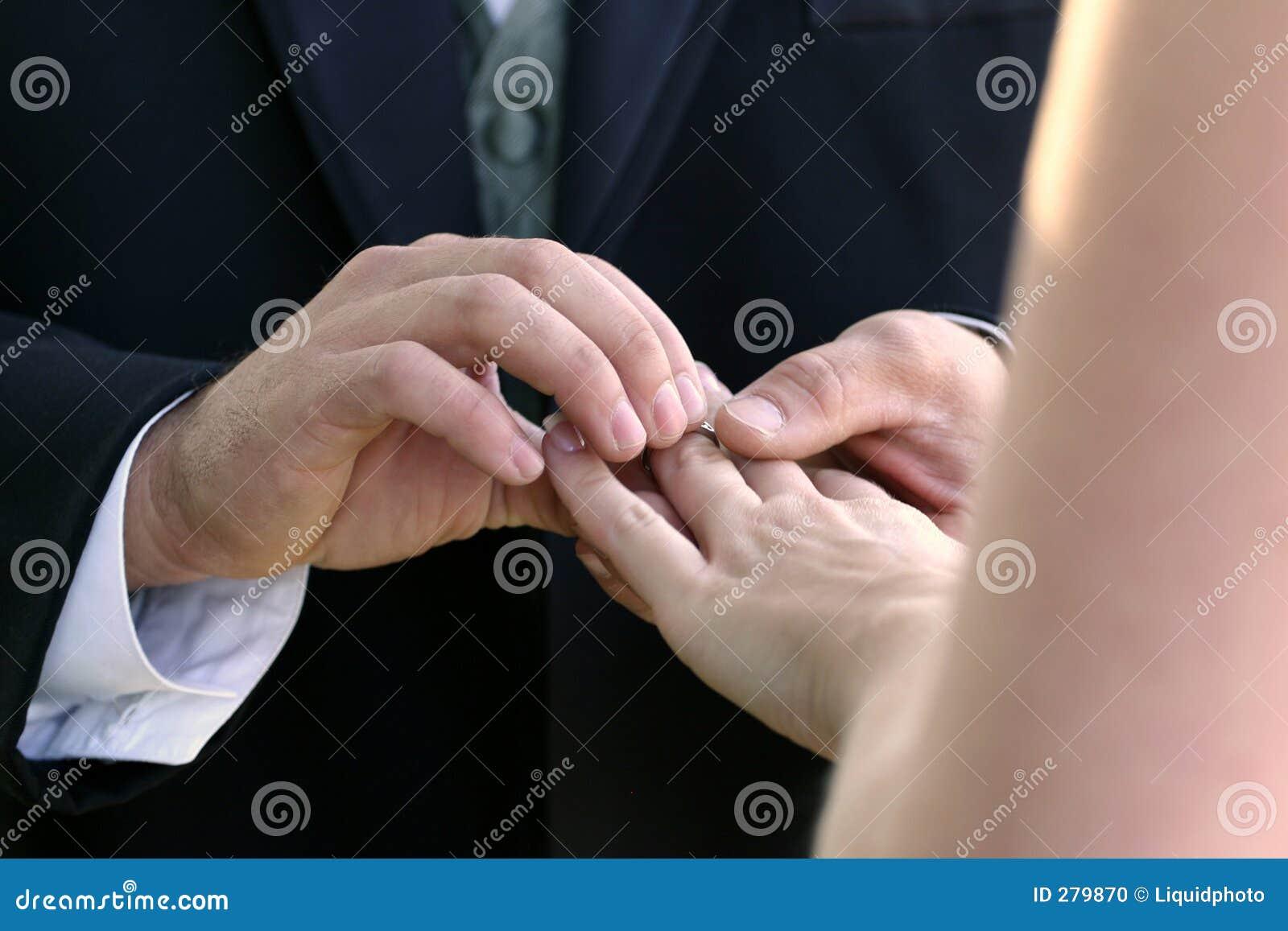 ο γάμος δαχτυλιδιών της