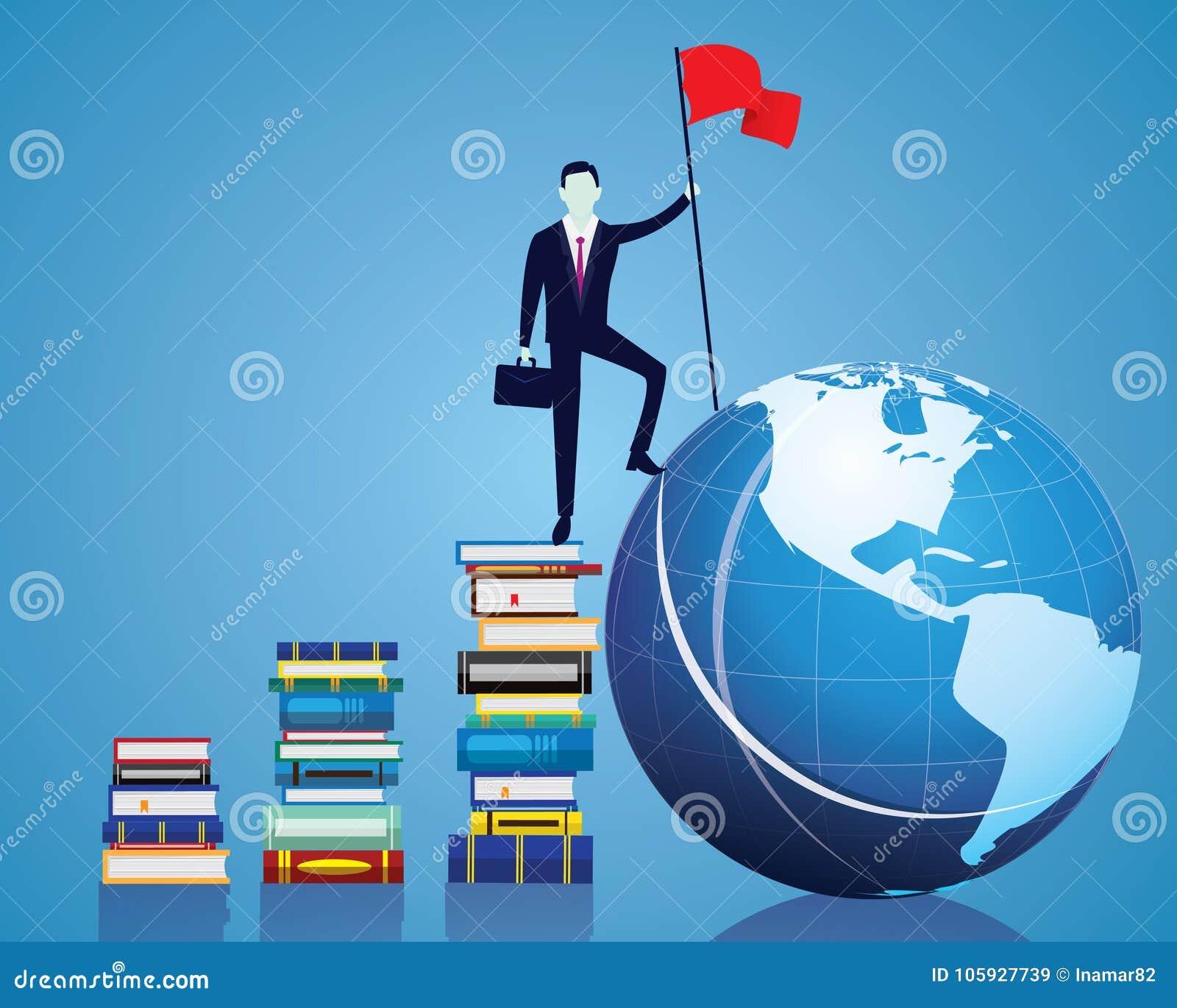 Ο επιχειρηματίας κατακτά το εμπόδιο, κυβερνά τον κόσμο με τη γνώση