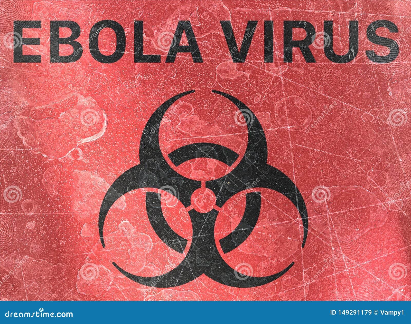 Ο ιός Ebola, biohazards, αναφέρεται στις βιολογικές ουσίες που αποτελούν απειλή για την υγεία των οργανισμών διαβίωσης, ιοί