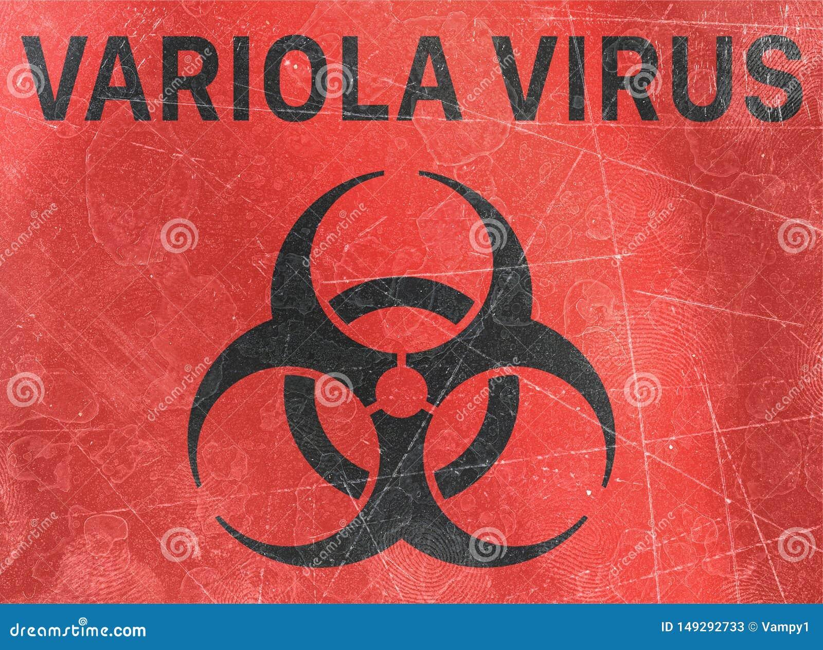 Ο ιός Variola, αναφέρεται στις βιολογικές ουσίες που αποτελούν απειλή για την υγεία των οργανισμών διαβίωσης, ιοί