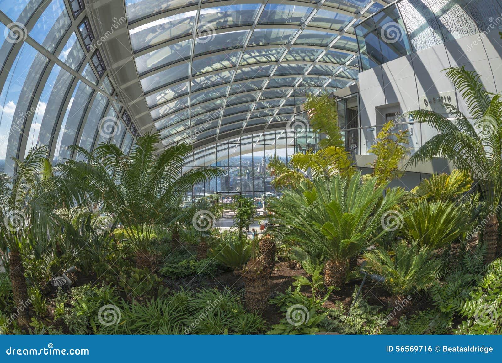 Download Ο κήπος ουρανού, οδός 20 Fenchurch, Λονδίνο, UK Εκδοτική Εικόνες - εικόνα από θέση, αρχιτεκτονικής: 56569716