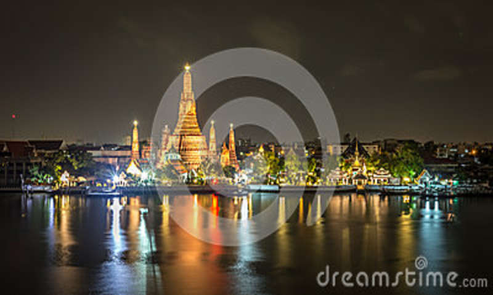 Ο ναός της Dawn, Wat Arun Ταϊλάνδη
