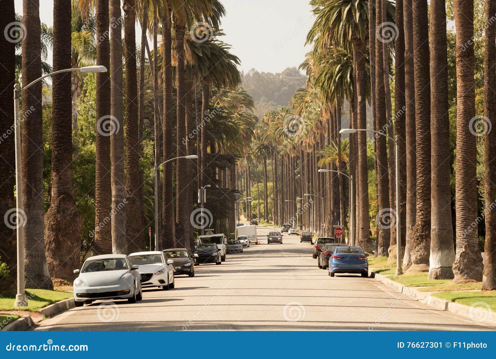 Οδοί του Μπέβερλι Χιλς σε Καλιφόρνια