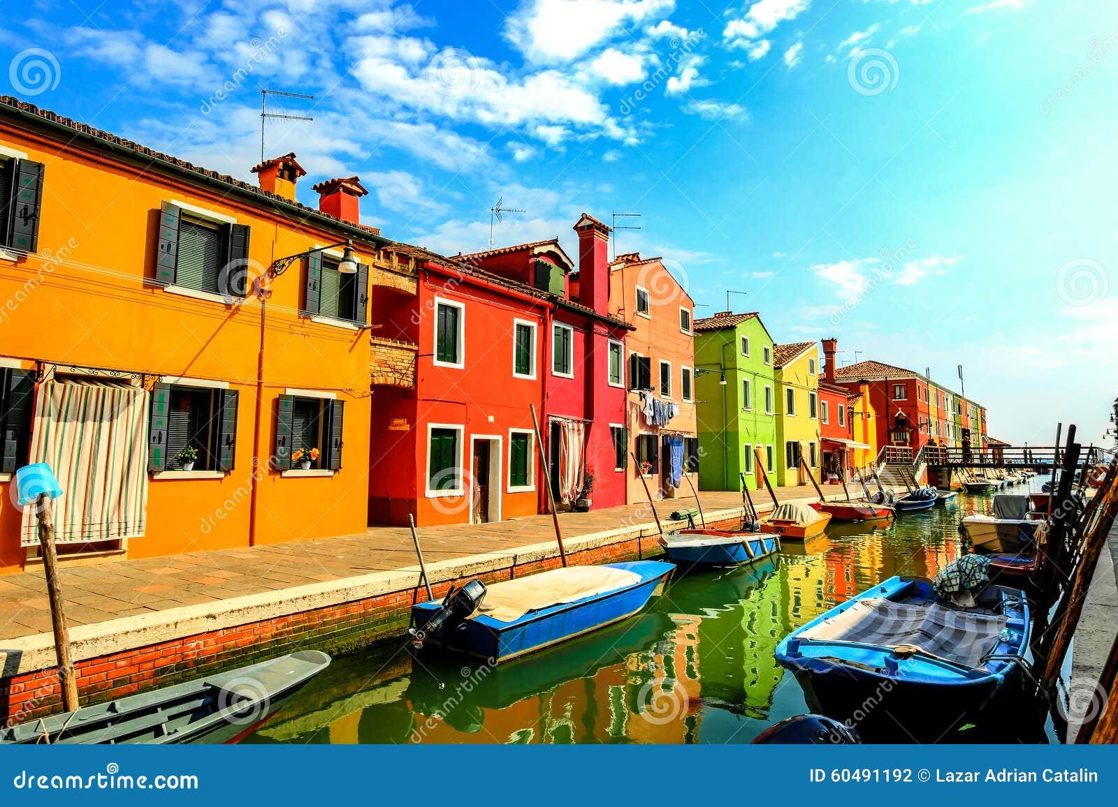 Οδοί Burano, Ιταλία