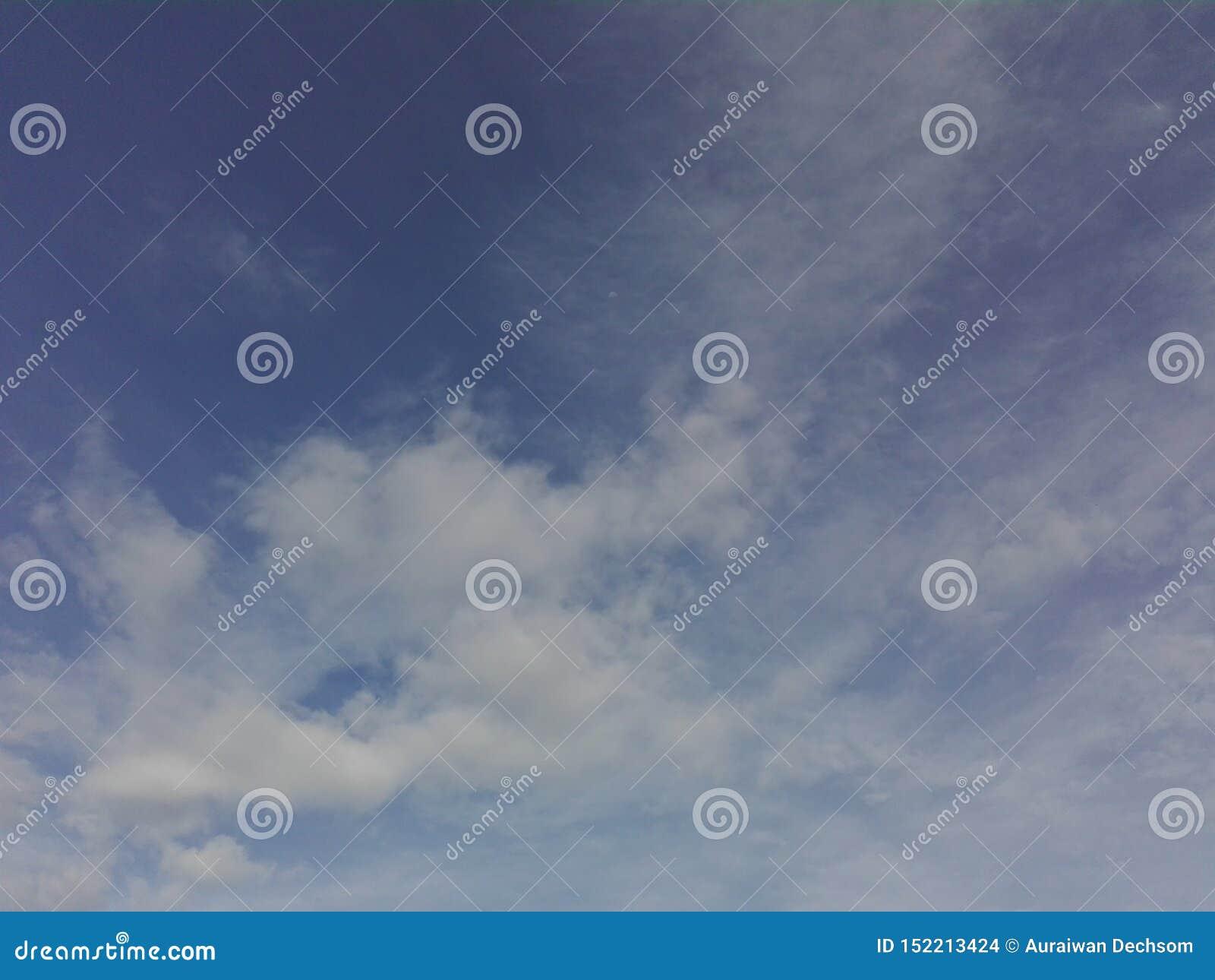 Ο ουρανός καλύπτεται με τα σύννεφα