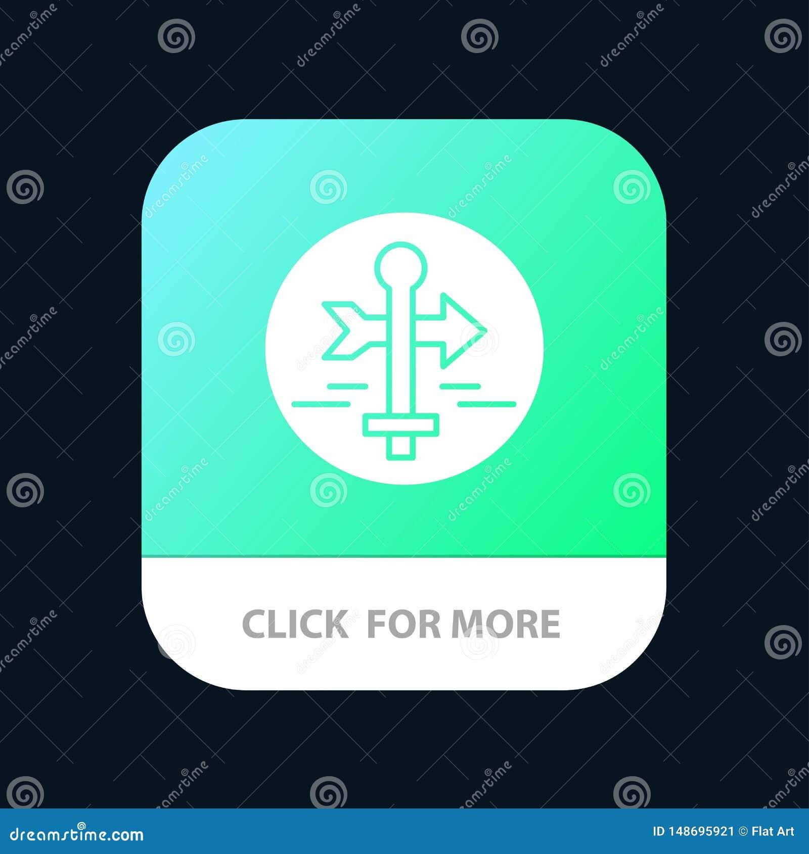 Ο πίνακας, οδηγός, χάρτης, δείκτης χαρτών, ταξιδεύει το κινητό App κουμπί Αρρενωπή και IOS Glyph έκδοση