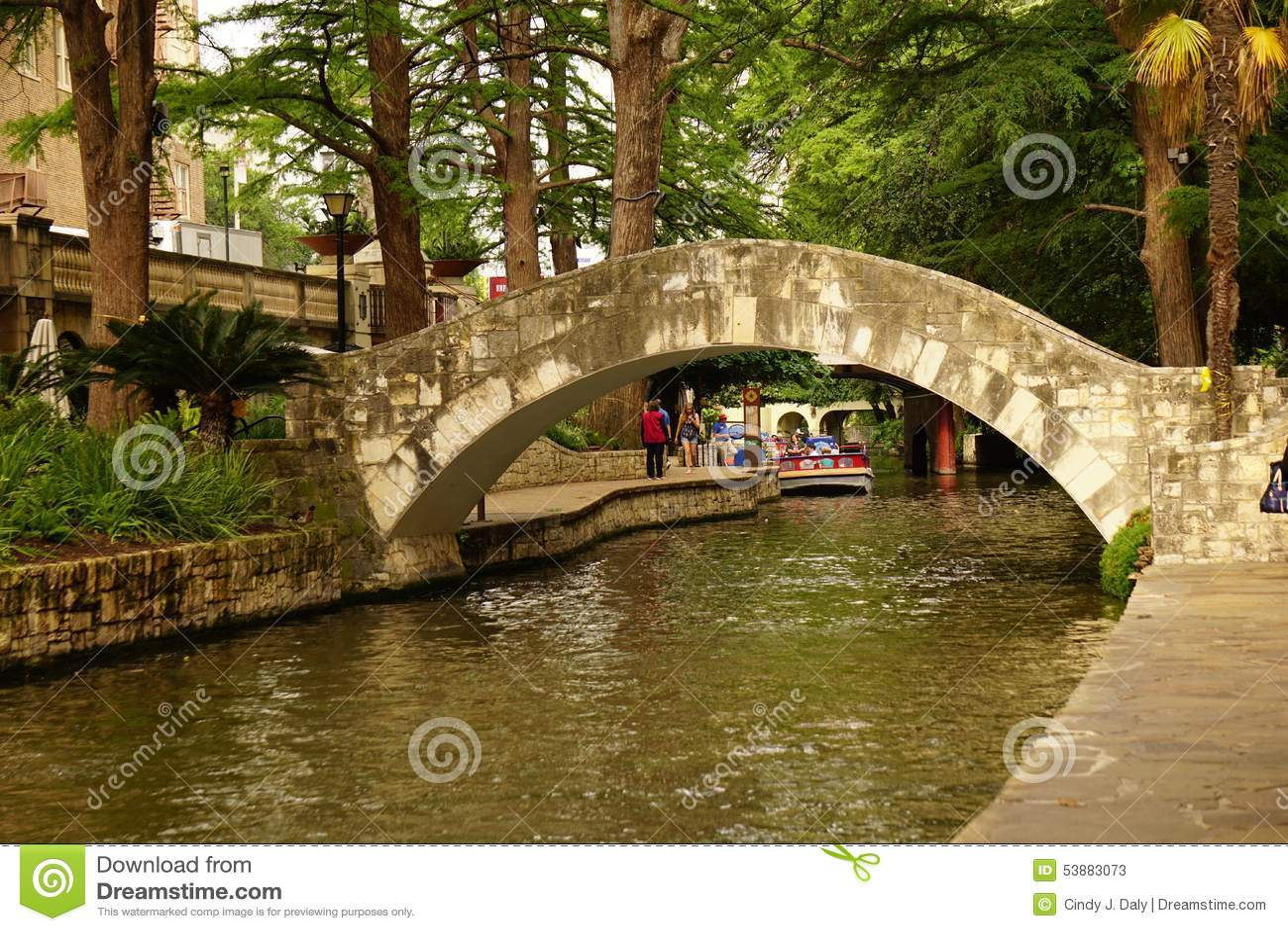 Ο περίπατος San Antonio ποταμών