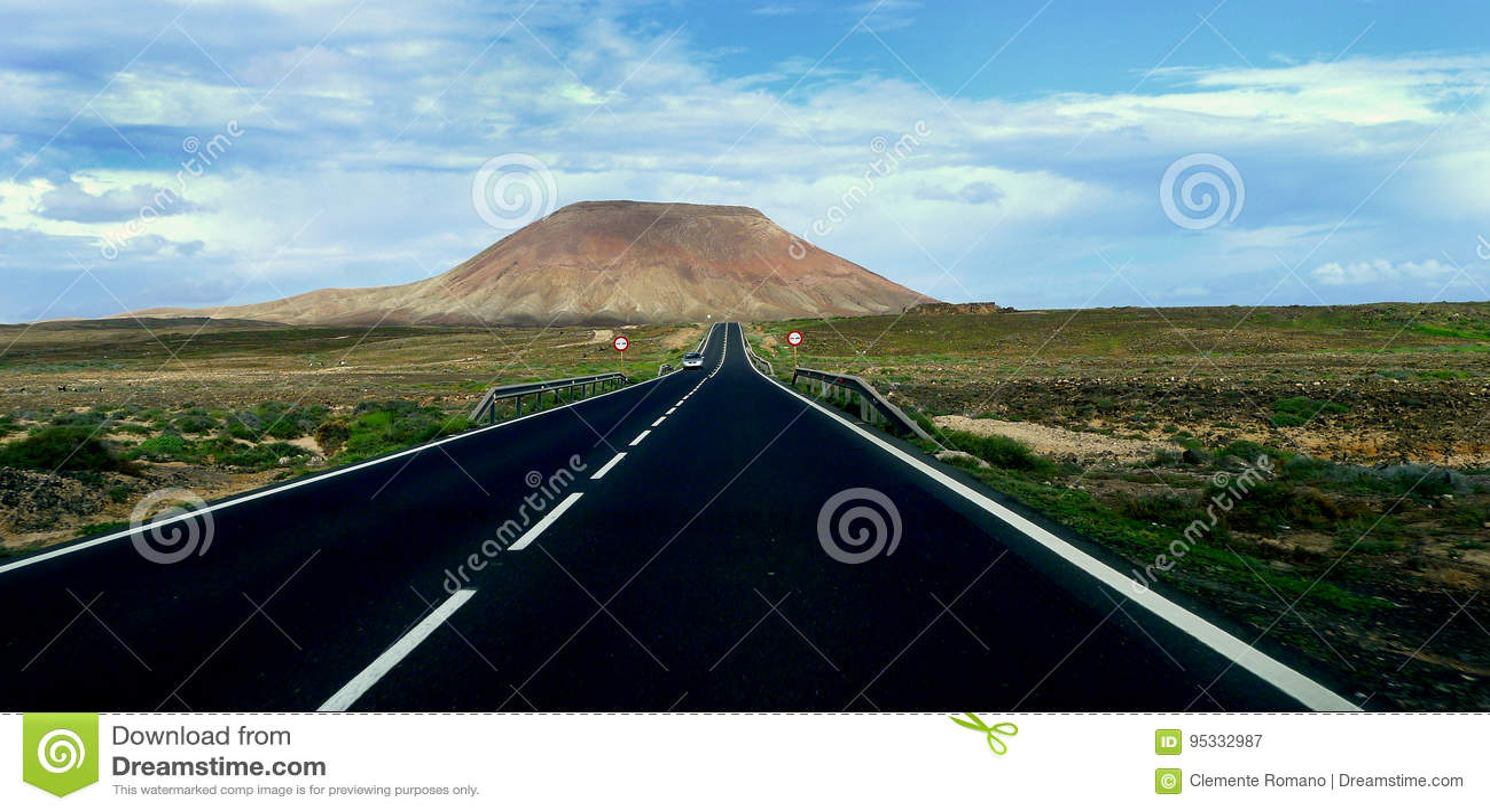 Ο δρόμος στο ηφαίστειο