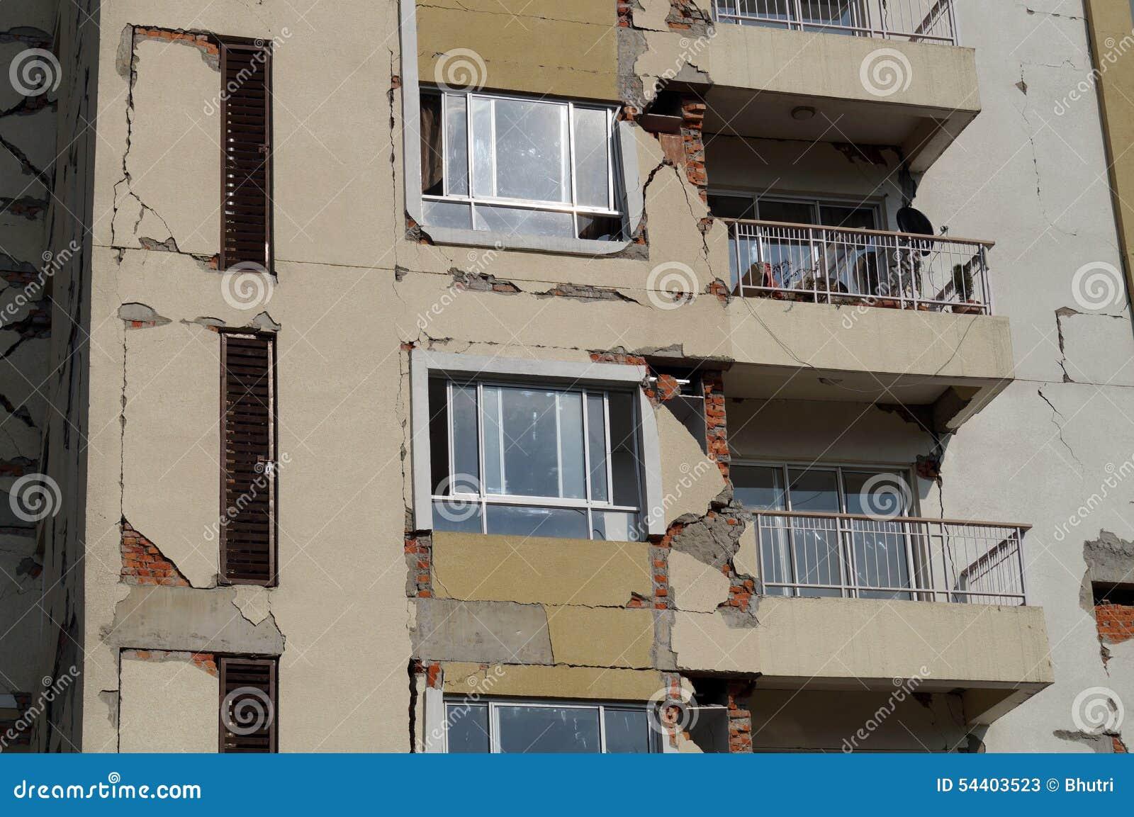 Ο σεισμός χτύπησε το διαμέρισμα