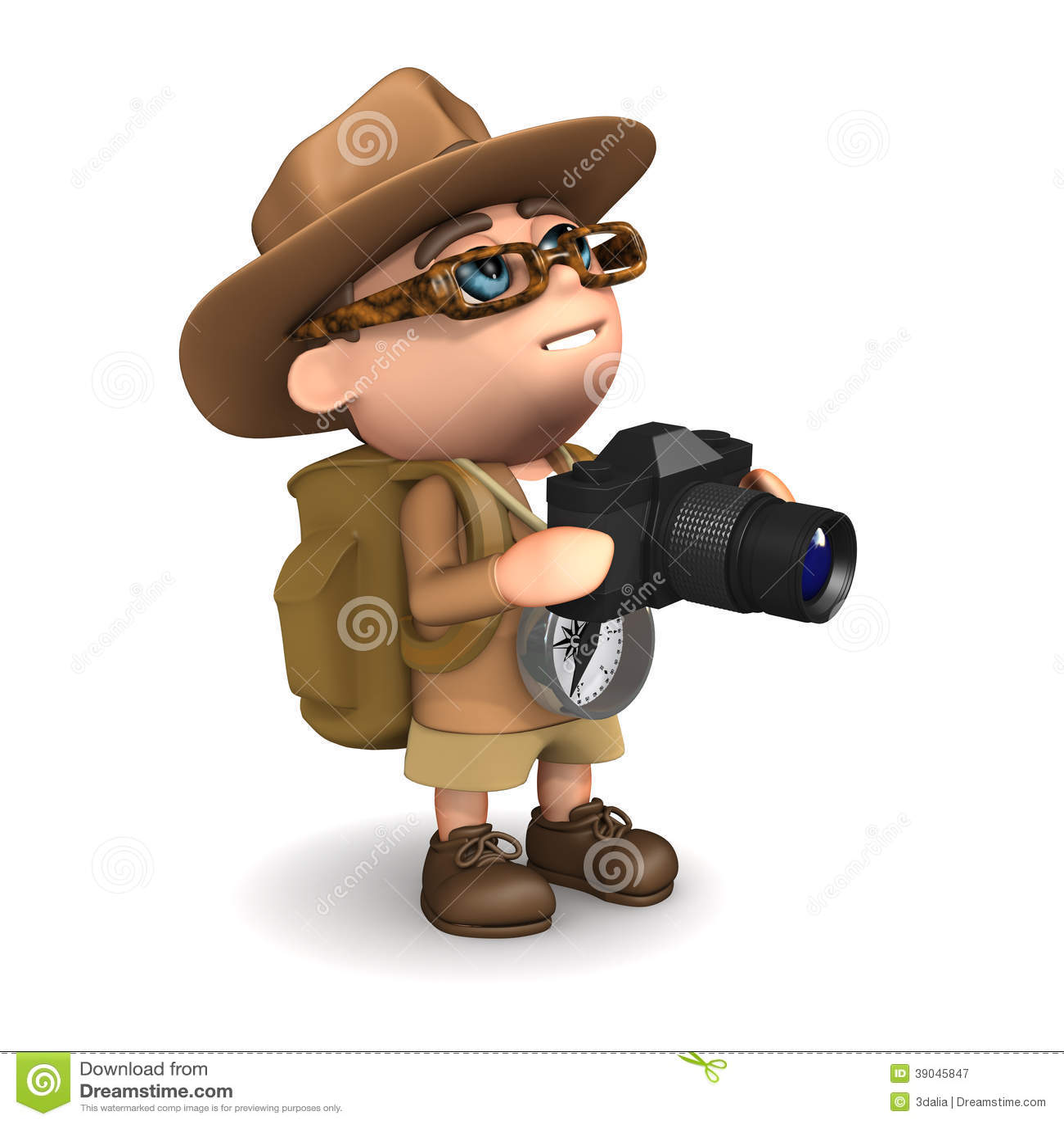 ο τρισδιάστατος εξερευνητής παίρνει μια φωτογραφία