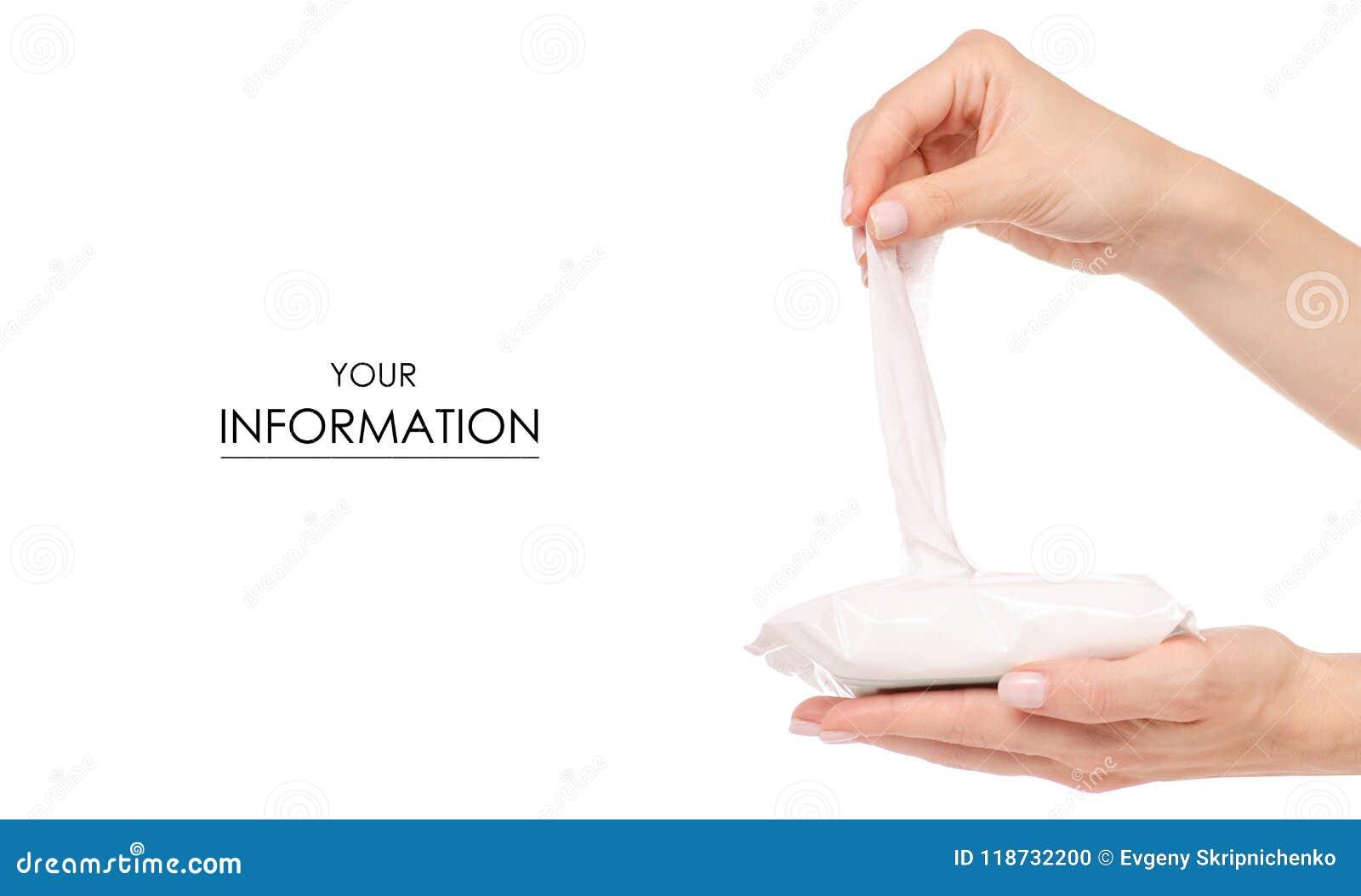 Ο υγρός σκουπίζει το διαθέσιμο σχέδιο χεριών