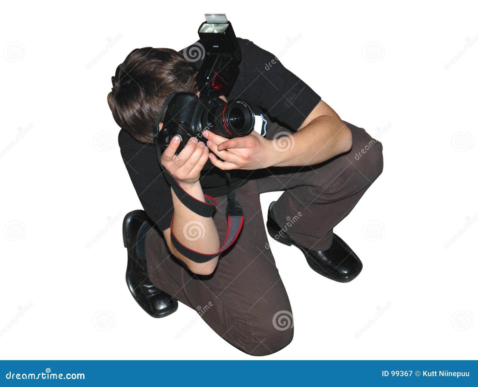 ο φωτογράφος θέτει το s