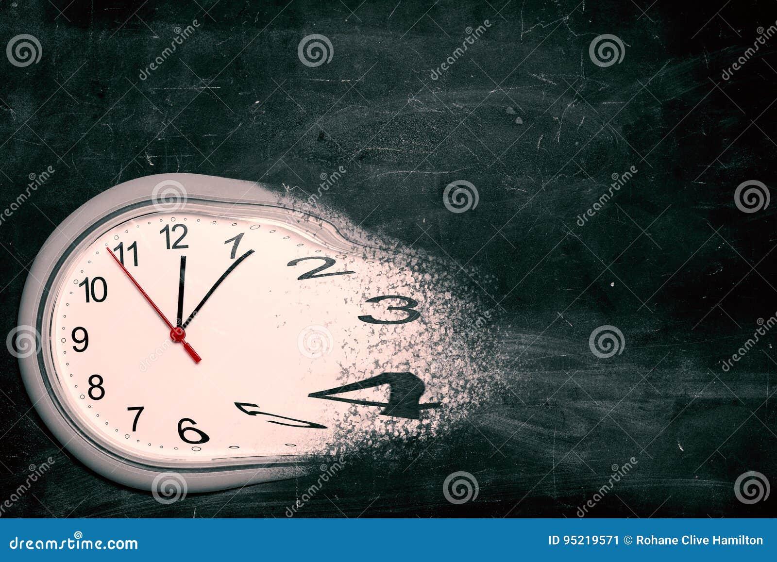 Ο χρόνος τρέχει έξω την έννοια