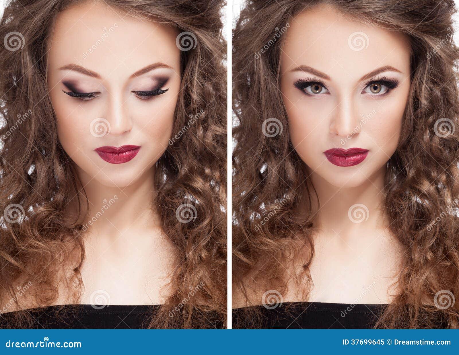 Ο όμορφος πρότυπος επαγγελματίας brunette αποτελεί