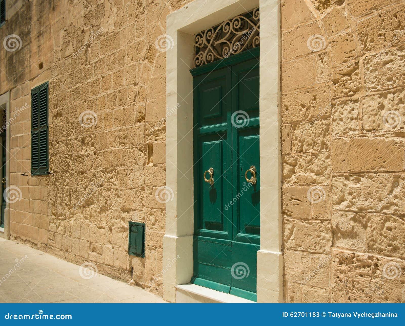 Οδός σε της Μάλτα Mdina