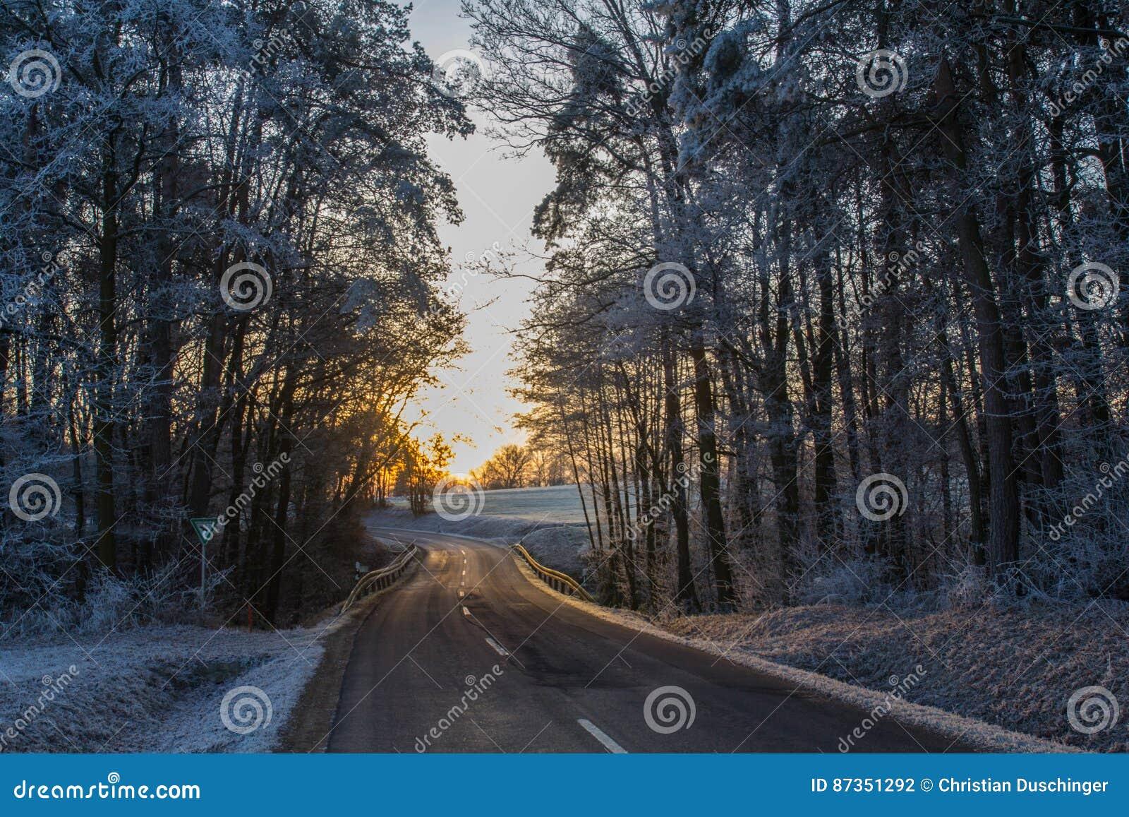 Οδός το χειμώνα