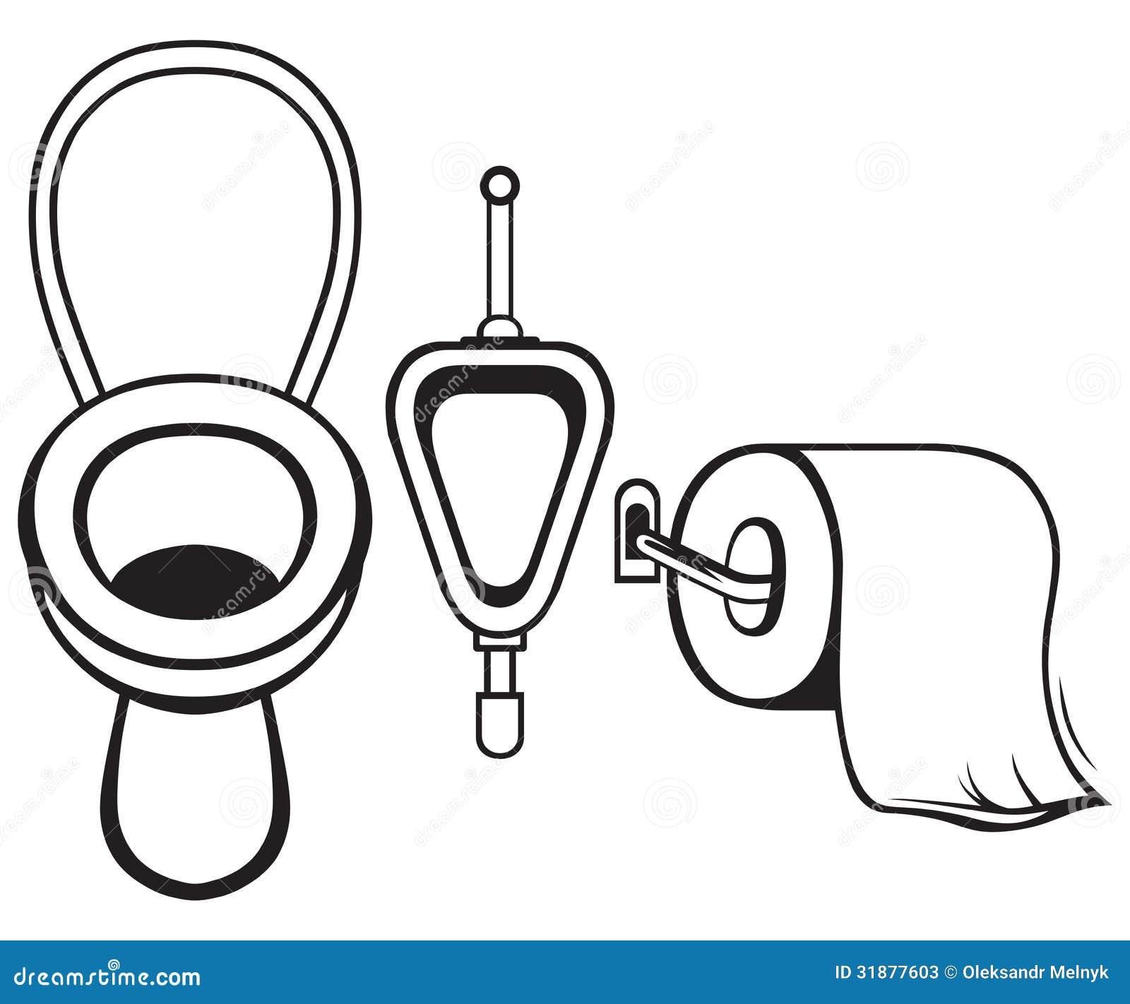 卫生纸和洗手间
