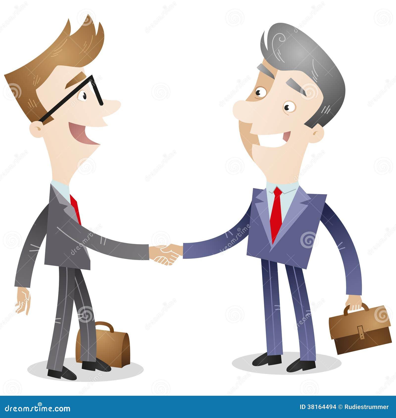 握手的商人图片
