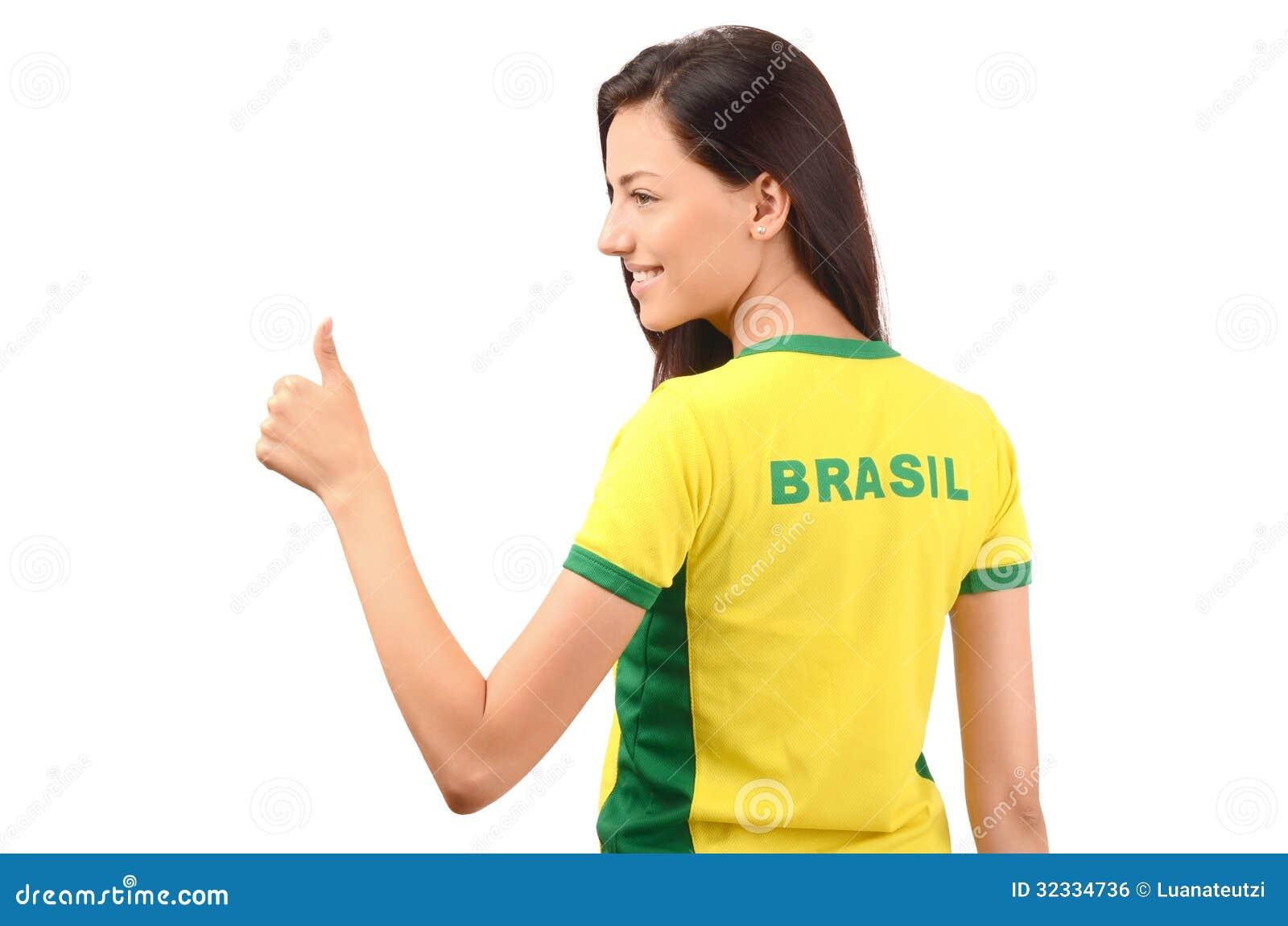 的巴西的可爱的女孩
