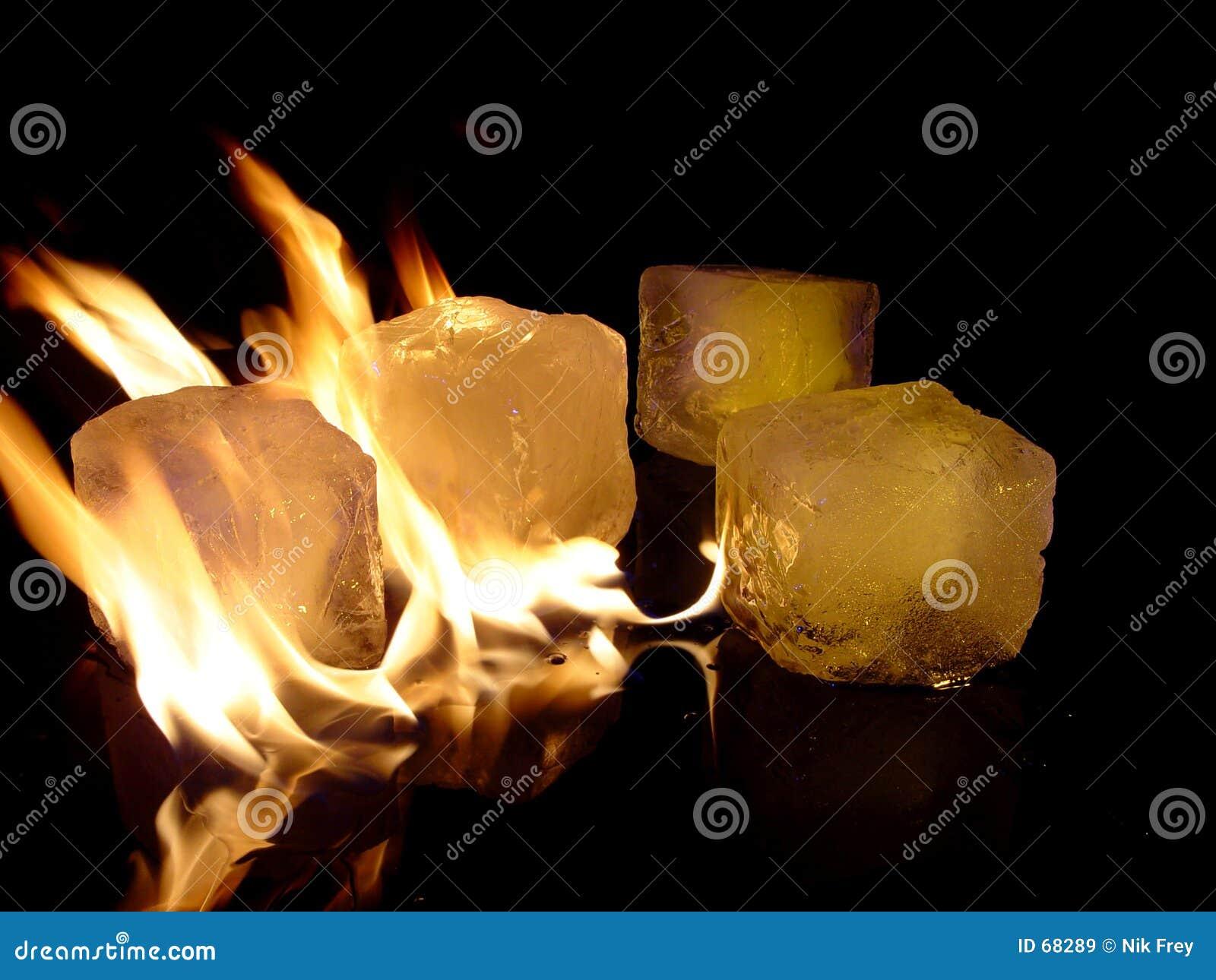 πάγος πυρκαγιάς