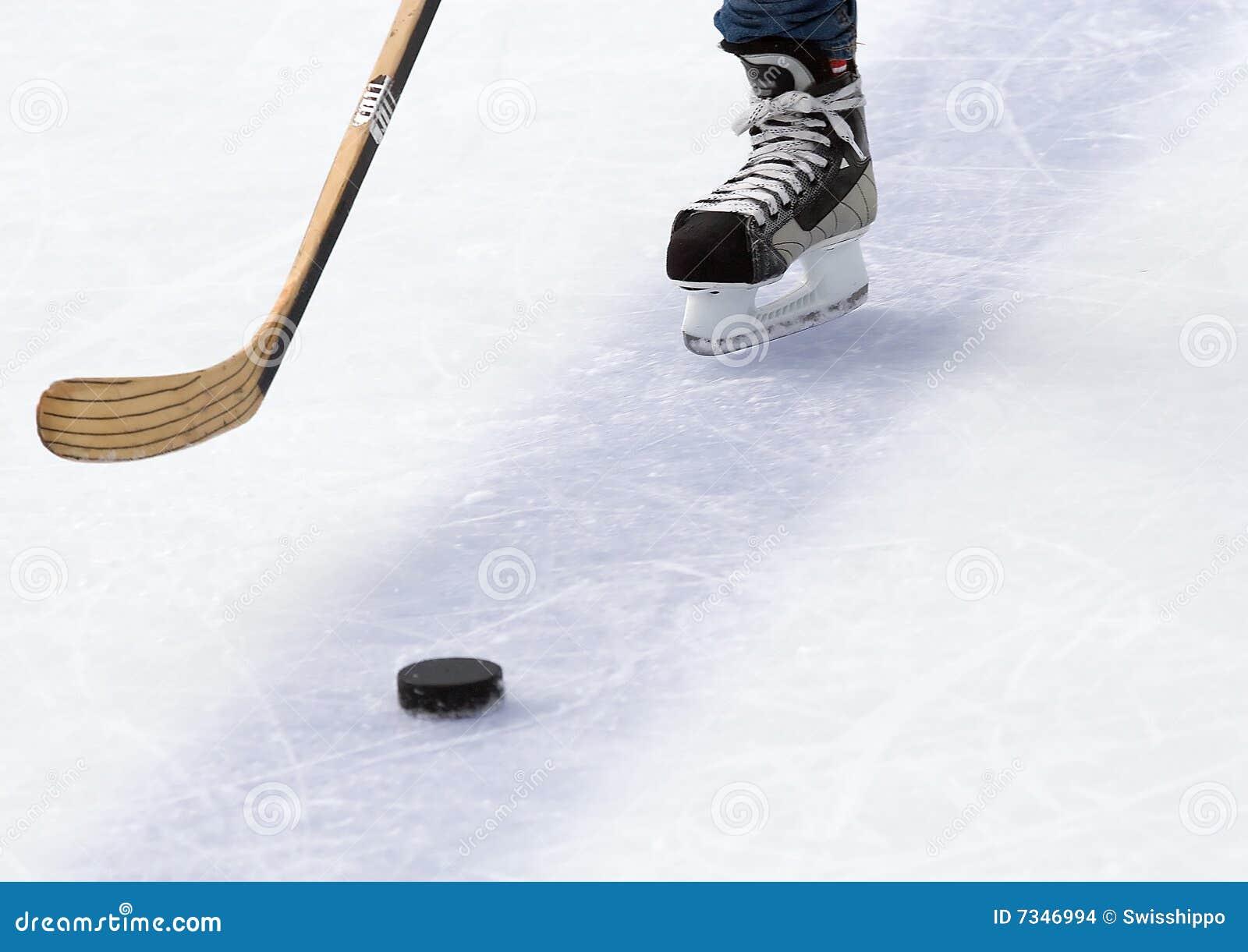 πάγος χόκεϋ παιχνιδιών τεμαχίων