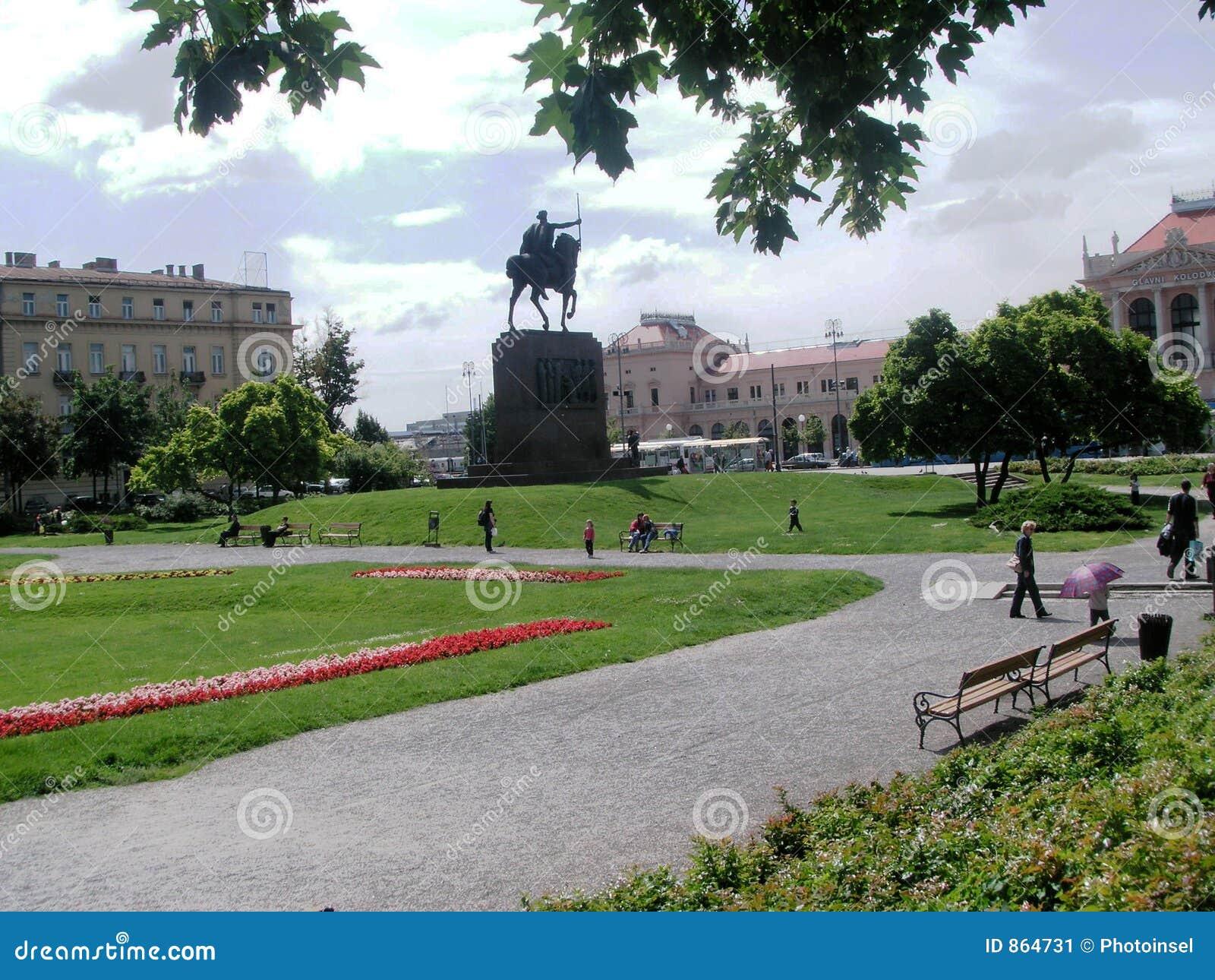 πάρκο Ζάγκρεμπ zrinjevac