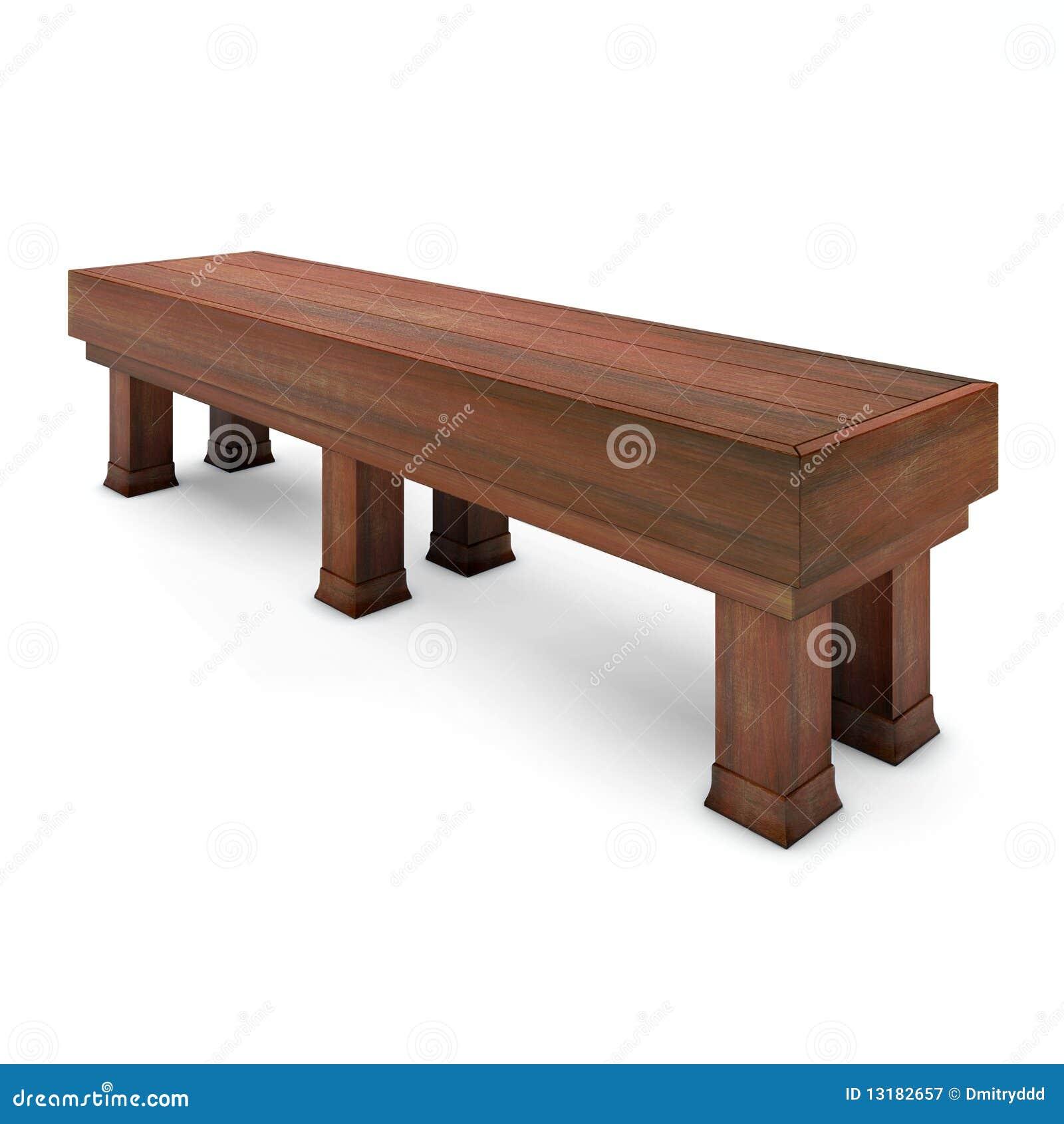 πάρκο πάγκων ξύλινο
