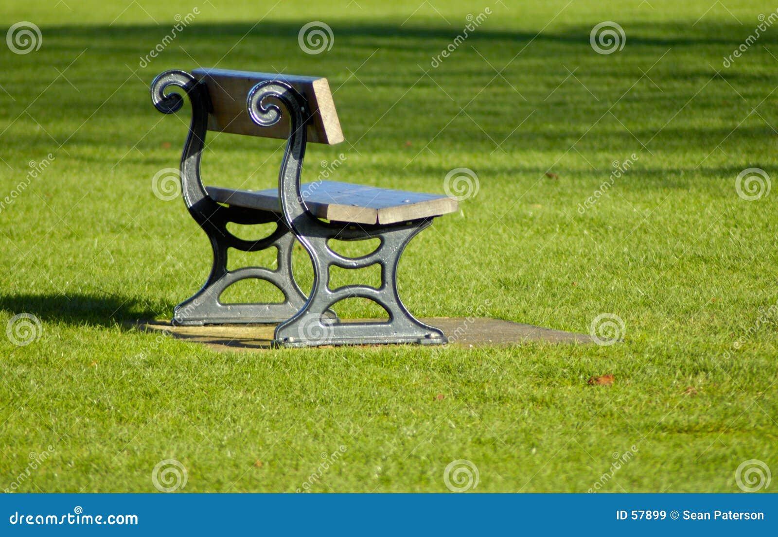 Download πάρκο πάγκων στοκ εικόνα. εικόνα από χλόη, πάρκο, πράσινος - 57899