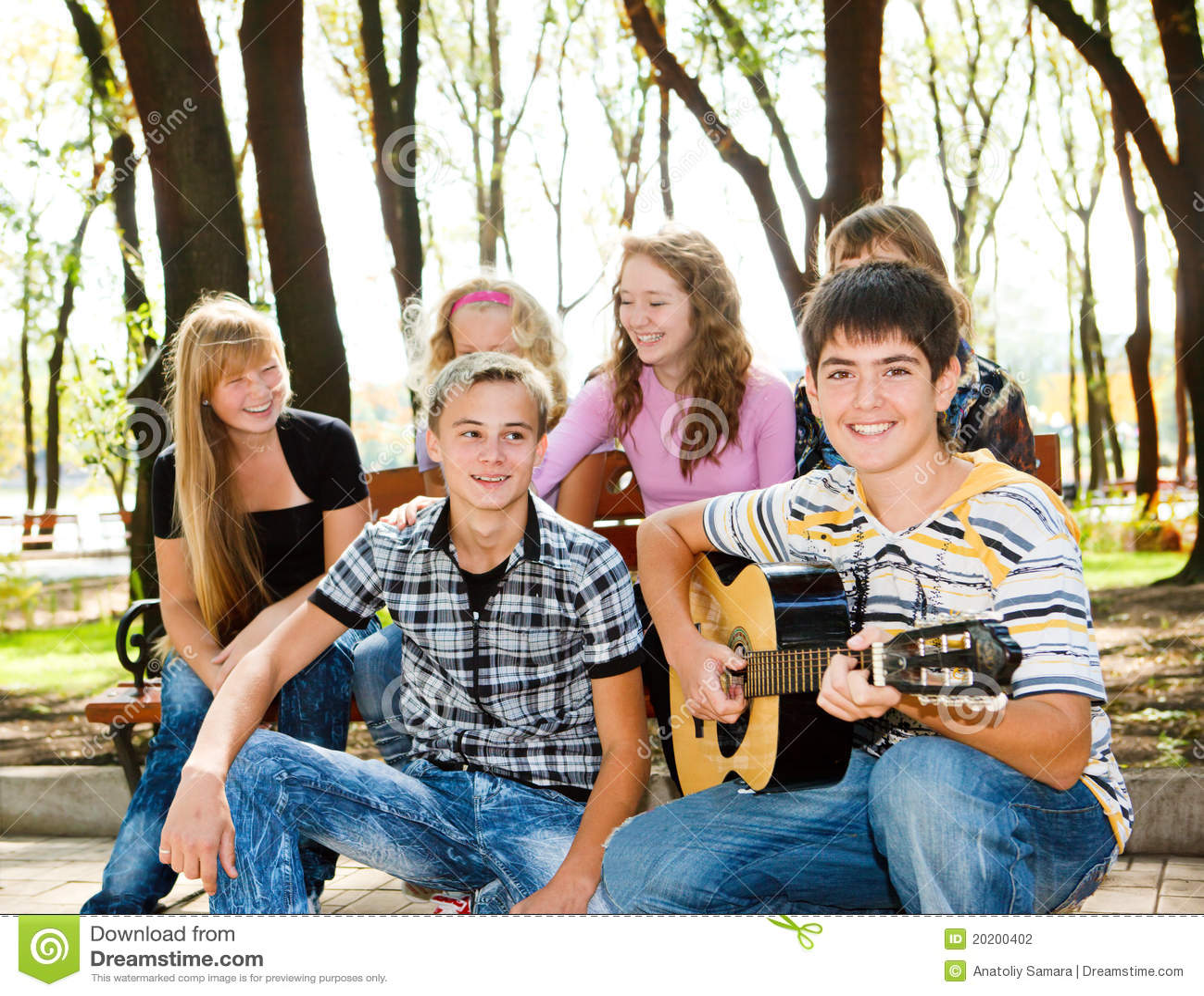 πάρκο πλήθους teens