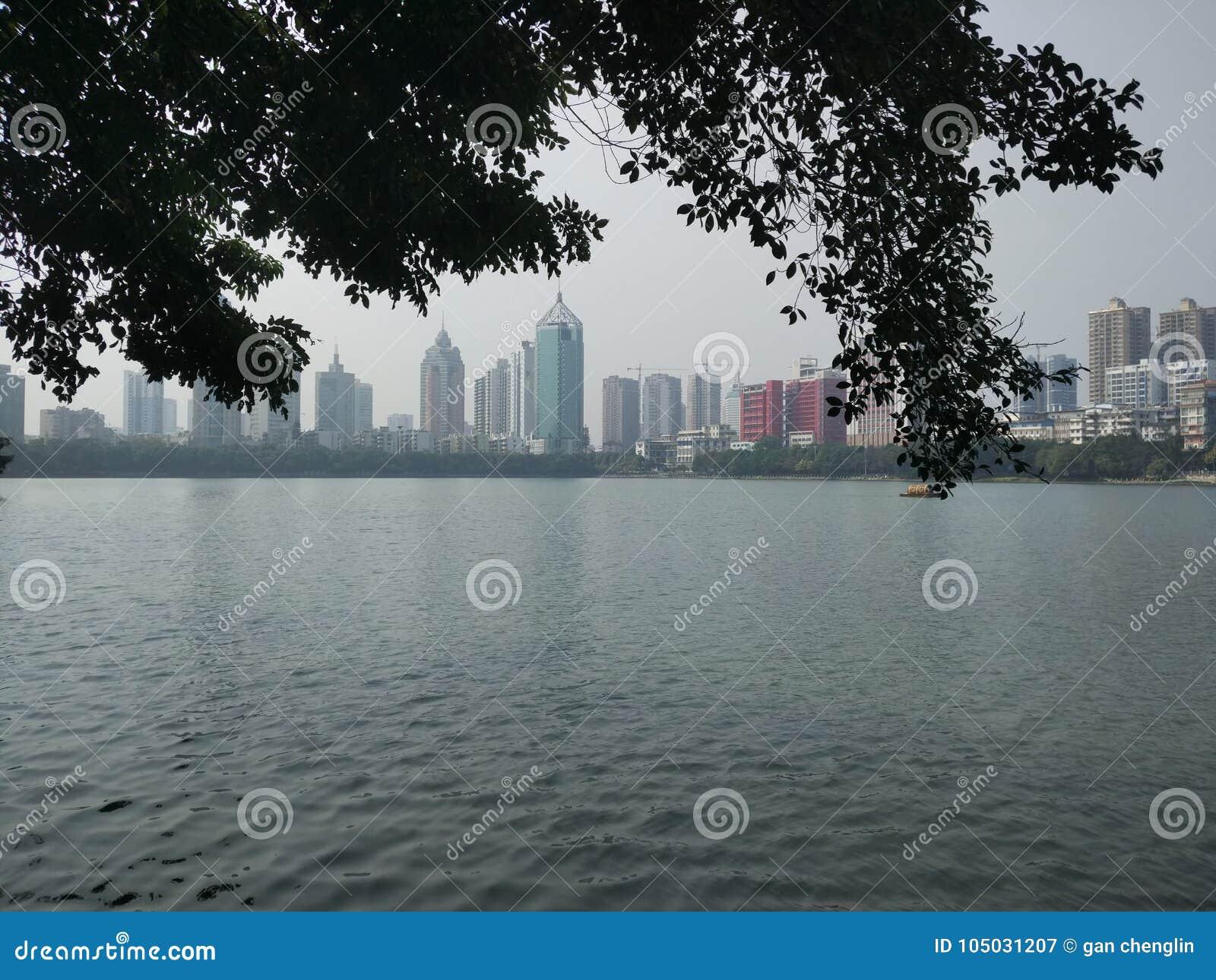 Πάρκο Nanhu Nanning