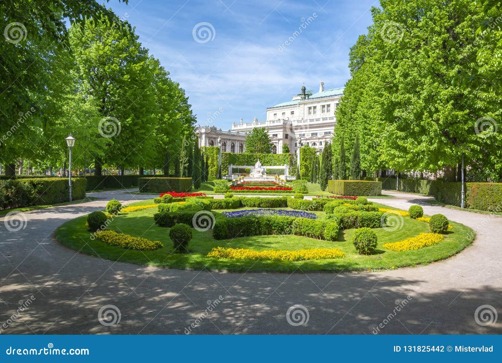 Πάρκο Volksgarten και θέατρο Burg, Βιέννη, Αυστρία