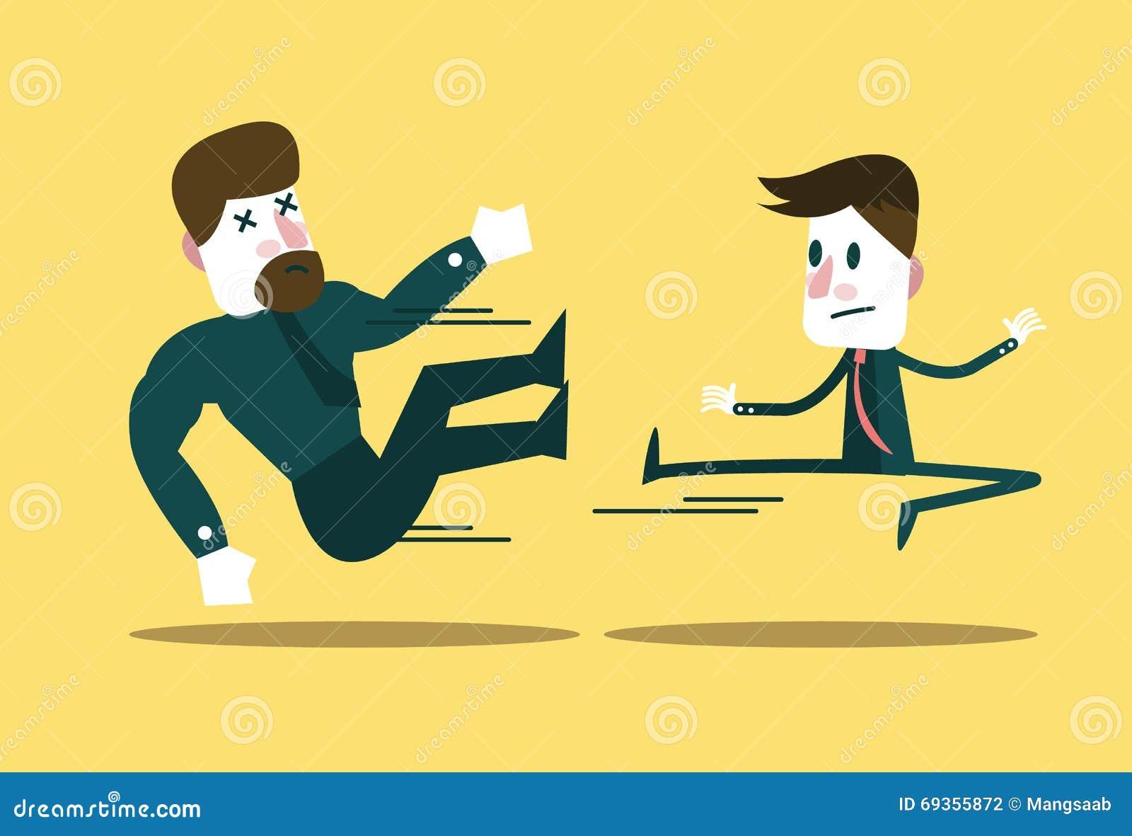 Πάλη δύο επιχειρηματιών Ο μικρός επιχειρηματίας κερδίζει το μεγάλο τύπο